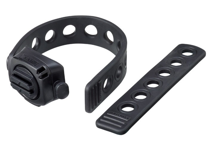 The Flex Strap from Contour is a versatile mount that is designed for use across a multitude of sports and bar shapes. Strap it to the downtube of your bicycle or to the roll cage in your car. The soft flexible strap holds steady and dampens vibration to assure you get clear crisp HD video. Two strap sizes are provided that connect with the popular rotating mount, ensuring a secure fit to all angle needs. - $29.99