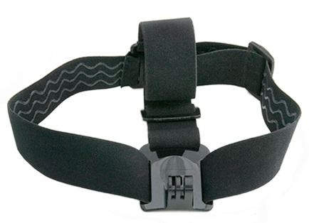 Fully adjustable to fit all sizes, the Head Strap is compatible with all GoPro cameras and great for keeping the footage clear while you shred. Compatible with ALL HD HERO & HD HERO2 cameras.NOT RECOMMENDED for high-impact sports. Only recommended for non-impact activities.Key Features of the GoPro Head Strap Mount: 1 Adjustable Head Strap Mount Warranty: 1 Year - $14.99