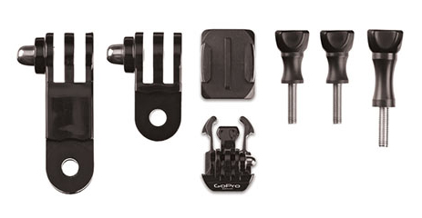 Extreme Attach your GoPro camera to the side of helmets, vehicles, gear and more. 3-way pivot adjustability makes aiming easy.Key Features of the GoPro Side Mount:  Side Mount  Curved Adhesive Mount - $8.95