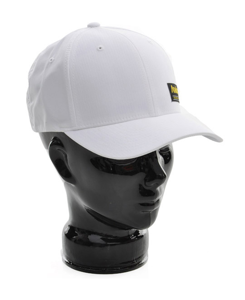 One size fits all with the Analog Legend Flex Fit Hat. Black and White matches everything. - $8.95