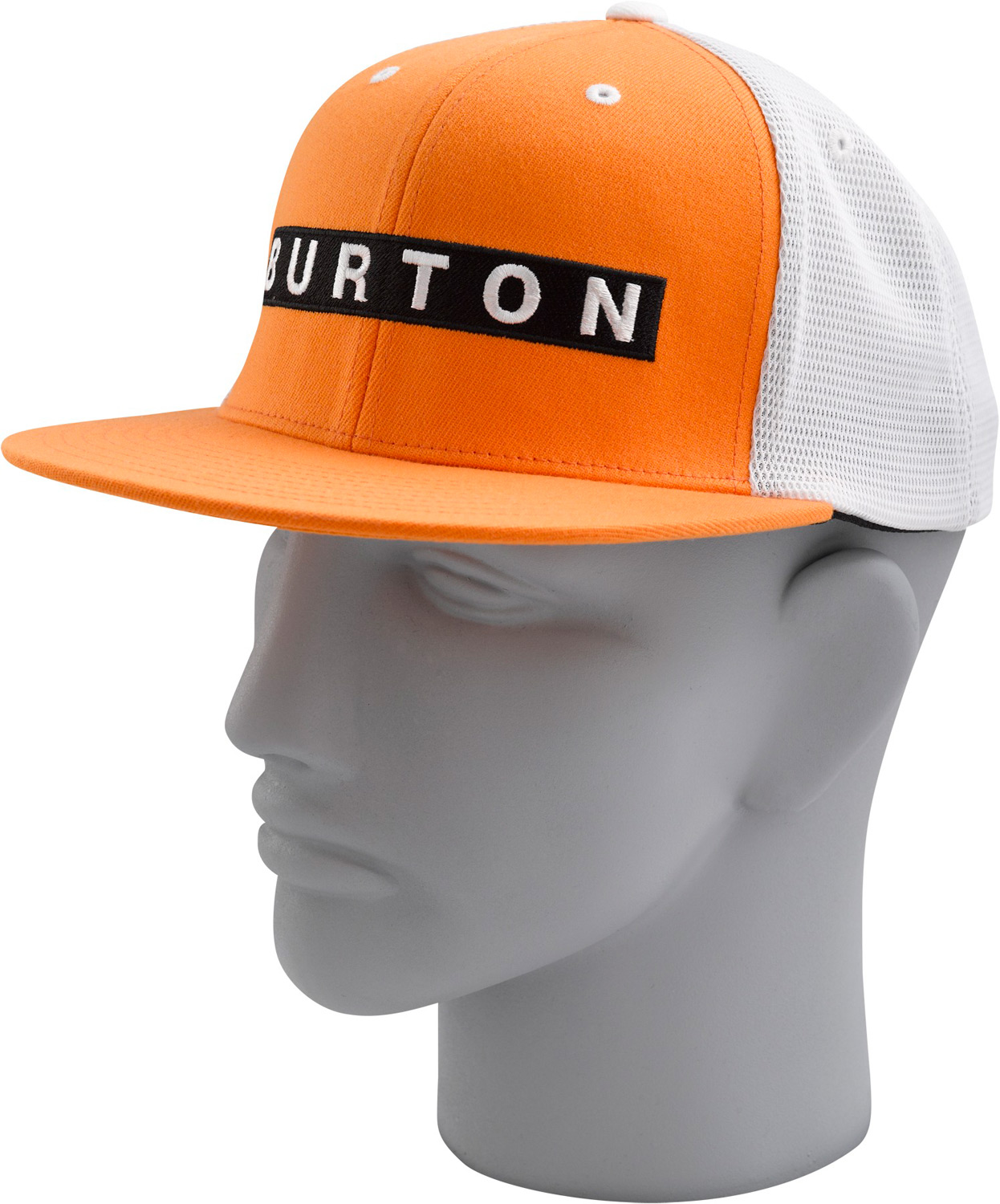 Snowboard Key Features of the Burton Bar Flex Fit Cap: 40% acrylic, 40% Polyester, 20% Wool Word mark bar embroidery with mesh back J-Fit with flat visor One size fits all - $17.95