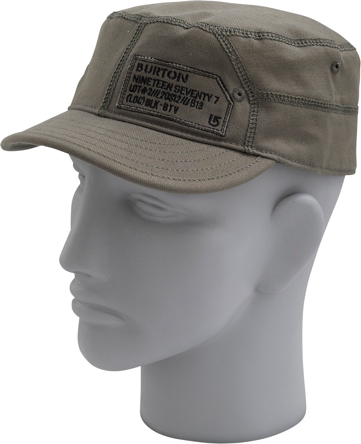 Snowboard Key Features of the Burton Brigade Cap: 100% Cotton Military Fit Brigade Embroidery Curved Visor - $15.95