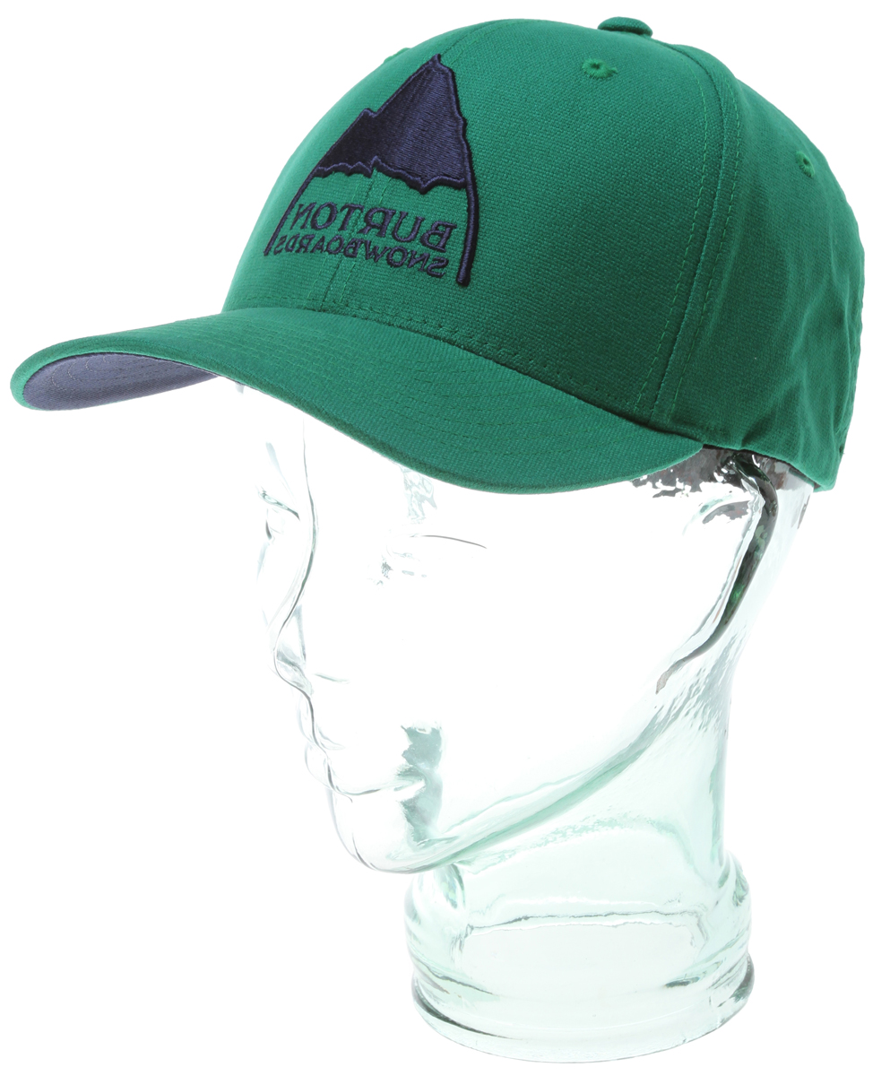 Snowboard Key Features of the Burton Hatchet Flexfit Cap: 98% Cotton, 2% Spandex Mountain and Burton Snowboards Puff Embroidery X-Fit with Curved Visor - $25.00