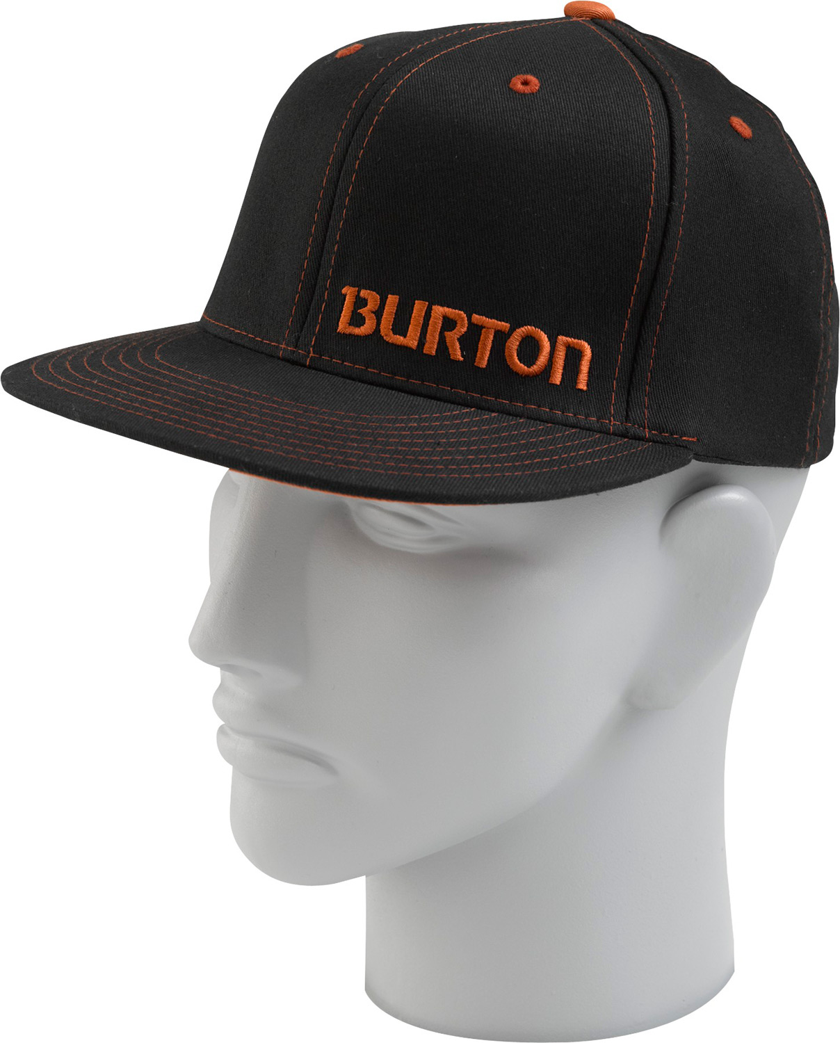 Snowboard Key Features of the Burton Stamped Cap: 98% Cotton/2% Spandex Flat Visor - $15.95
