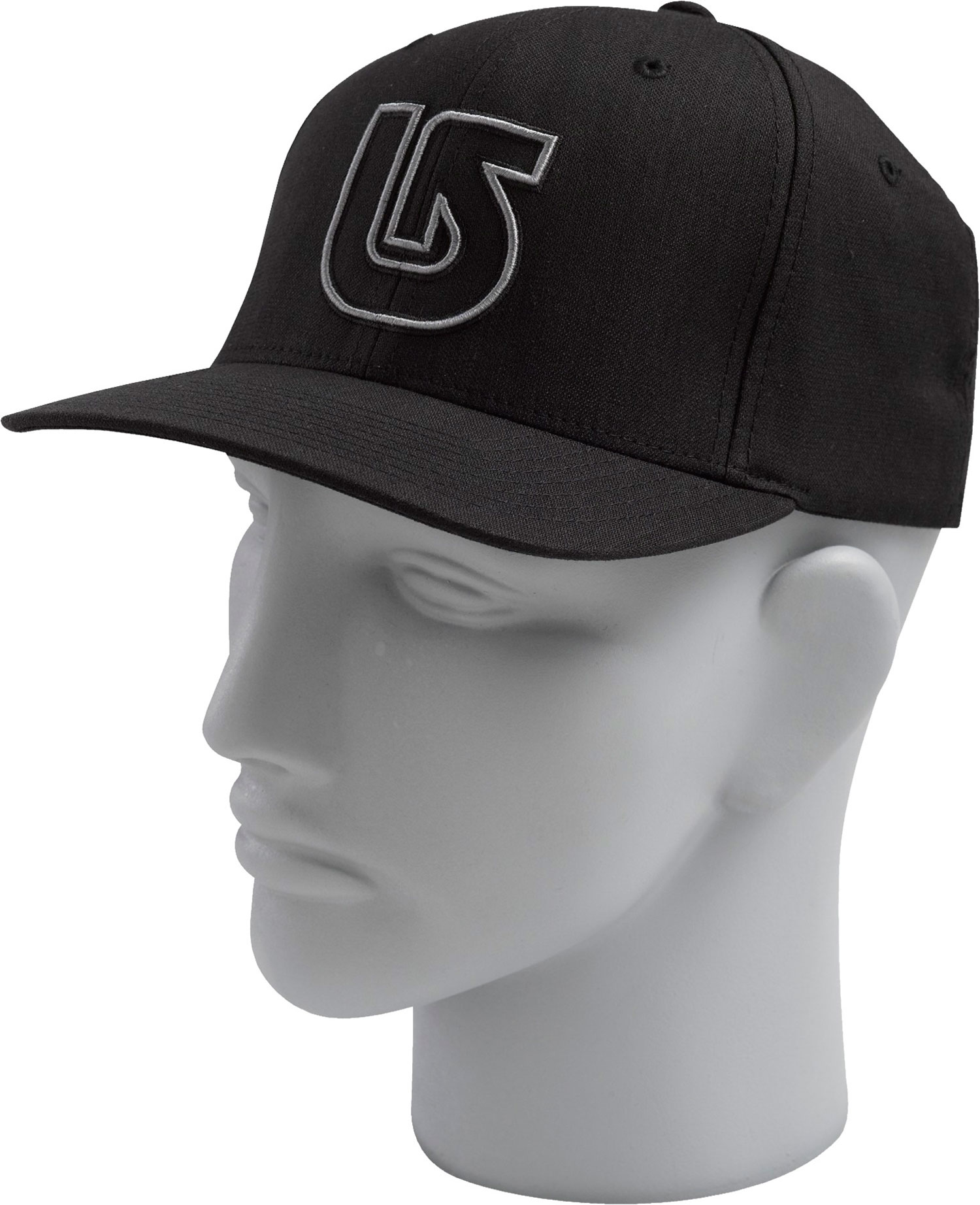 Snowboard Burton Striker Flexfit Cap True Black - $14.95