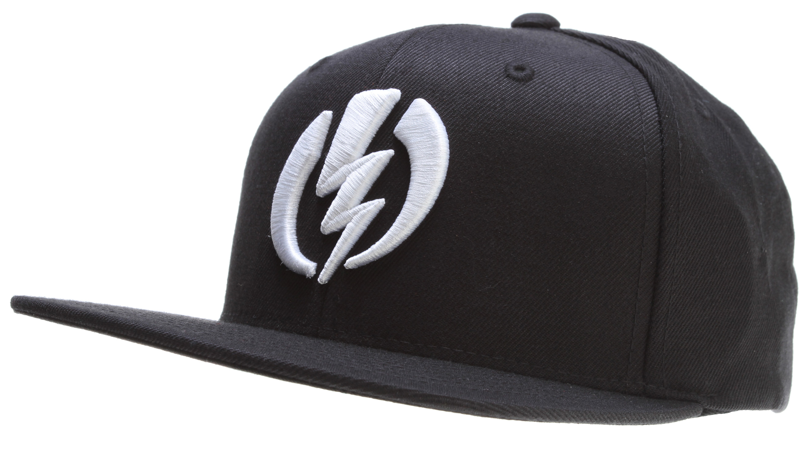 Key Features of the Electric Amp Cap: Snap Back High Raised Embroidery Flag Label 83% Acrylic / 15% Wool / 2% P.U - $16.95