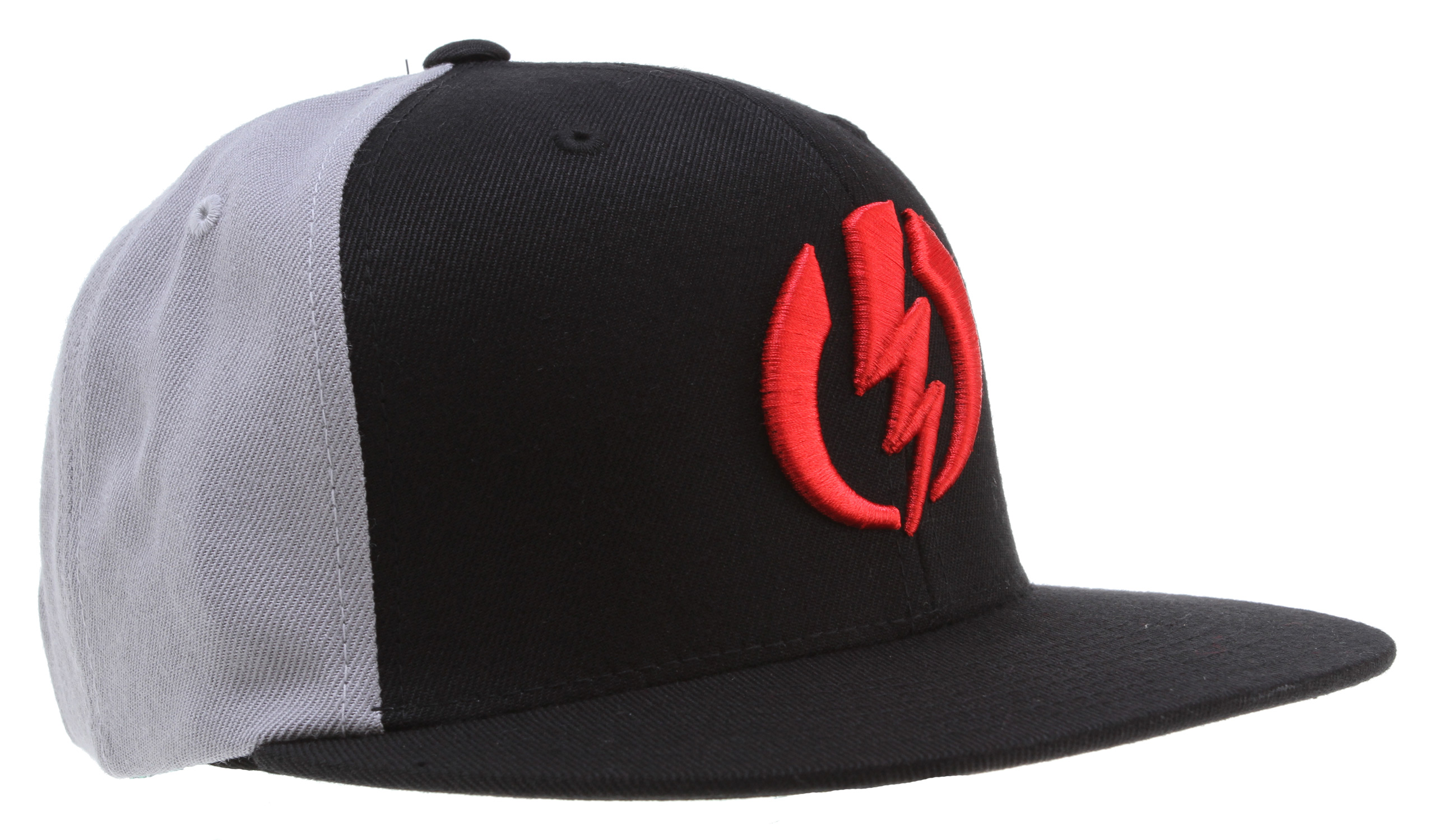 Key Features of the Electric Amp Cap: Men's Hat High Raised Embroidery 83% Acrylic 15% Wool 2% PU - $24.00