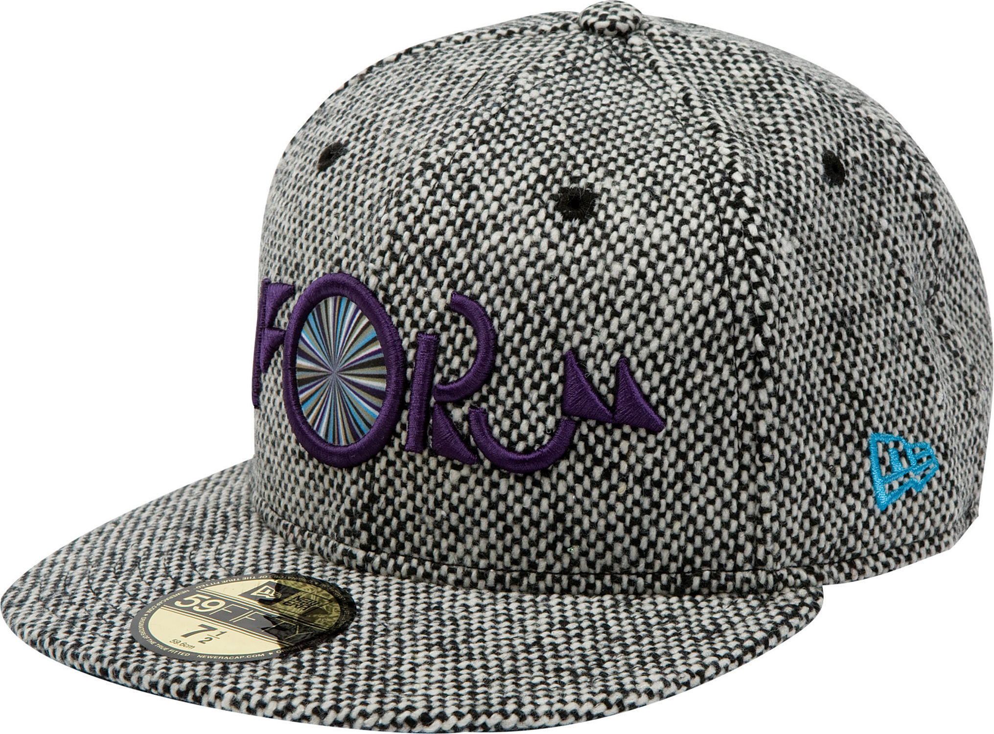 Key Features of the Forum Nugget New Era Cap: 3D embroidery 59/50 100% wool - $19.95
