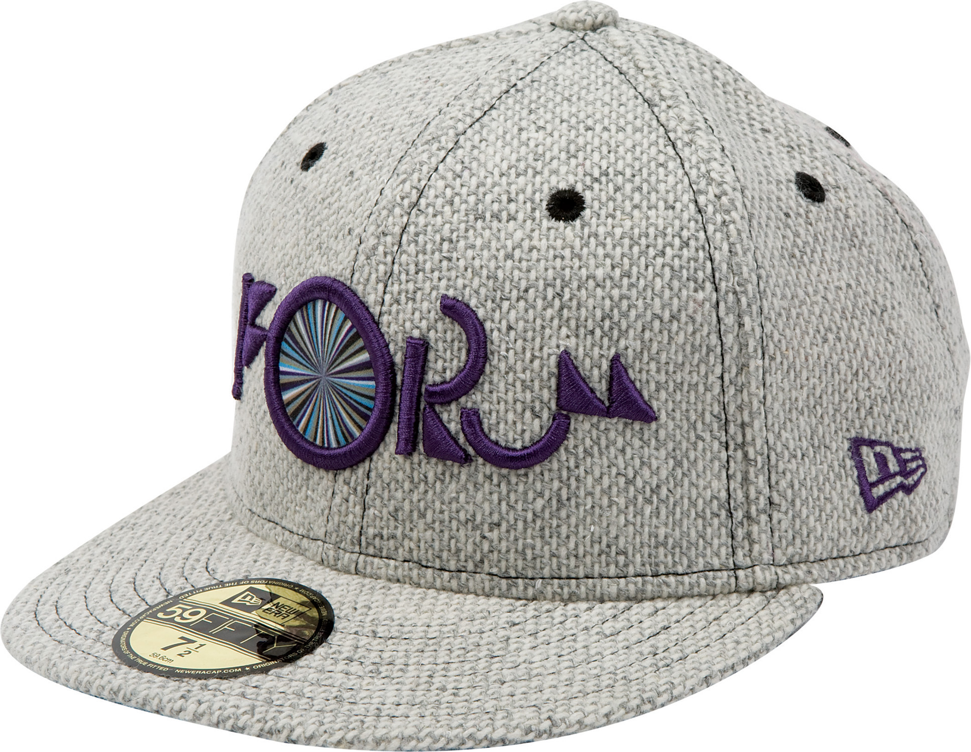 Key Features of the Forum Nugget New Era Cap: 3D embroidery 59/50 100% wool - $34.95