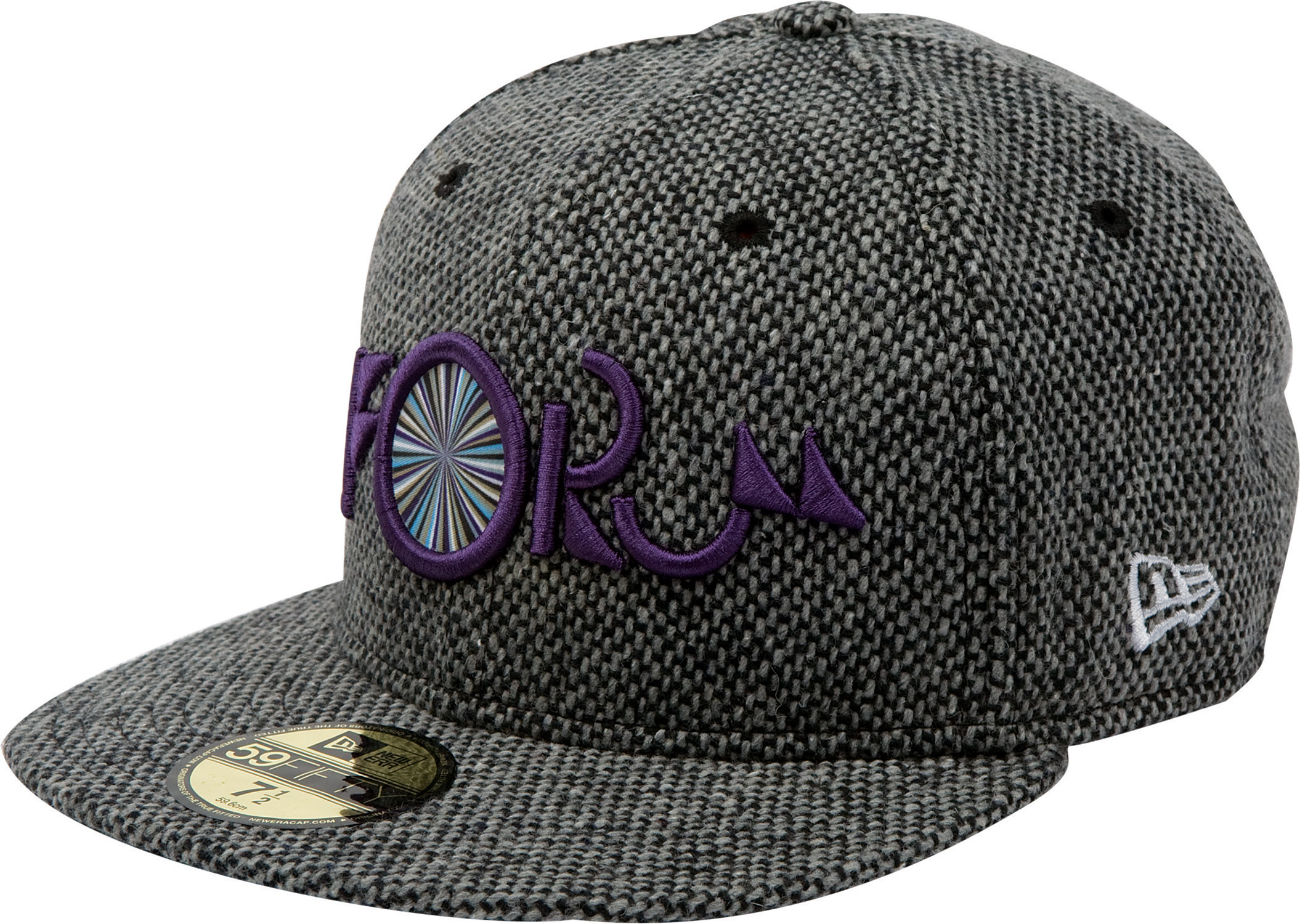 Key Features of the Forum Nugget New Era Cap: 3D embroidery 59/50 100% wool - $33.95