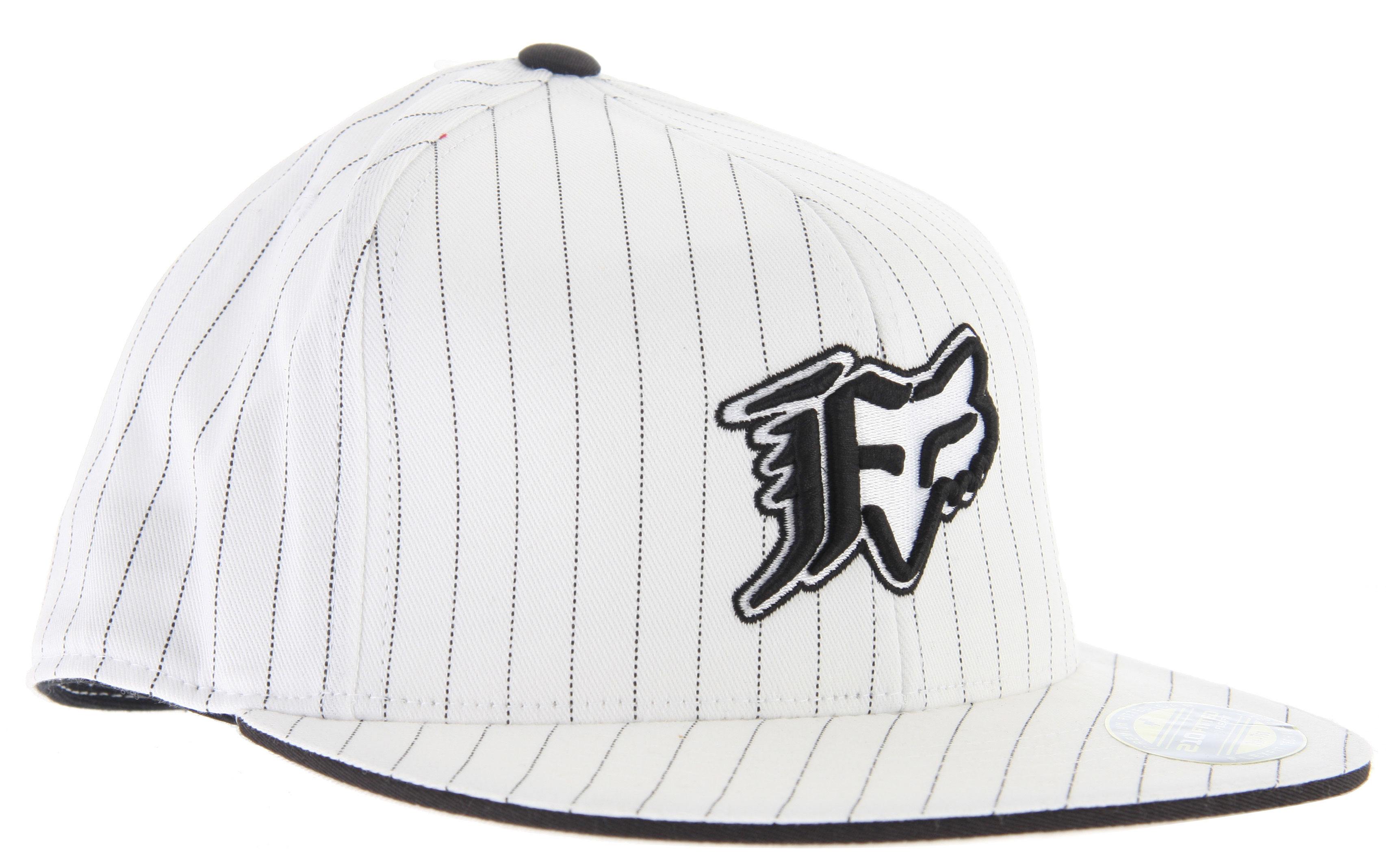 Fitness When it comes to hats, there is many different choices. The best and by far most stylish choice would absolutely have to be the Fox Vip Stripe 210 Hat. Fox Vip has made a very high quality looking hat that has beautiful stripes running down it. As all good hats, this one is fitted and it will look great on your head and won't look awkwardly placed like some of the other hats do. The Fox Vip logo on the side of the hat lets every body know that your wearing genuine hat and not some cheap material. Since this hat is black and white, it will match with almost all of your clothes in your wardrobe which will make any time, the perfect time to wear the Fox Vip Stripe 210 Hat!Key Features of the Fox Vip Stripe 210 Hat: Premium 210 Fitted Cap has a fitted look and feel with flexfit band and sizing. All-over pinstripe print. Embroidered Fox head in center. Small logo on back side. Pro bill with no curve 87% acrylic, 11% wool, 2% spandex - $17.95