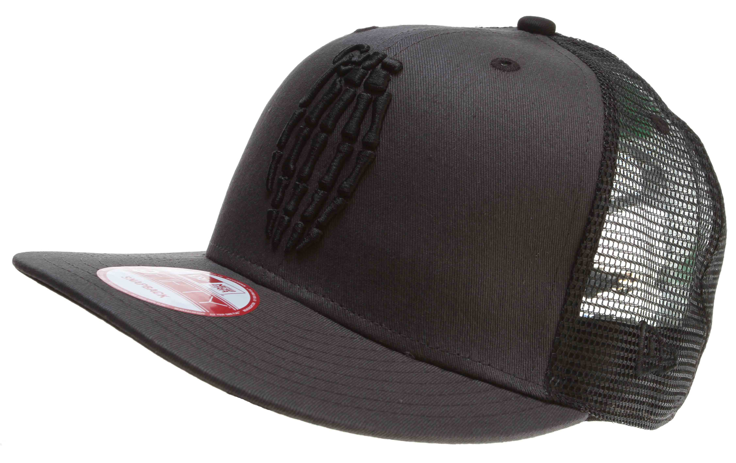 Key Features of the Grenade Skull Bomb Mesh Cap: 100% cotton New Era Mesh Snap Back Embroidered logo - $24.95