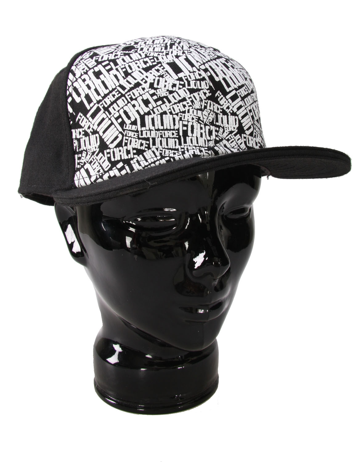 The Liquid Force Rush Hour Hat - New Era Fitted Cap / Printed Front with Embroidered Back - $9.95