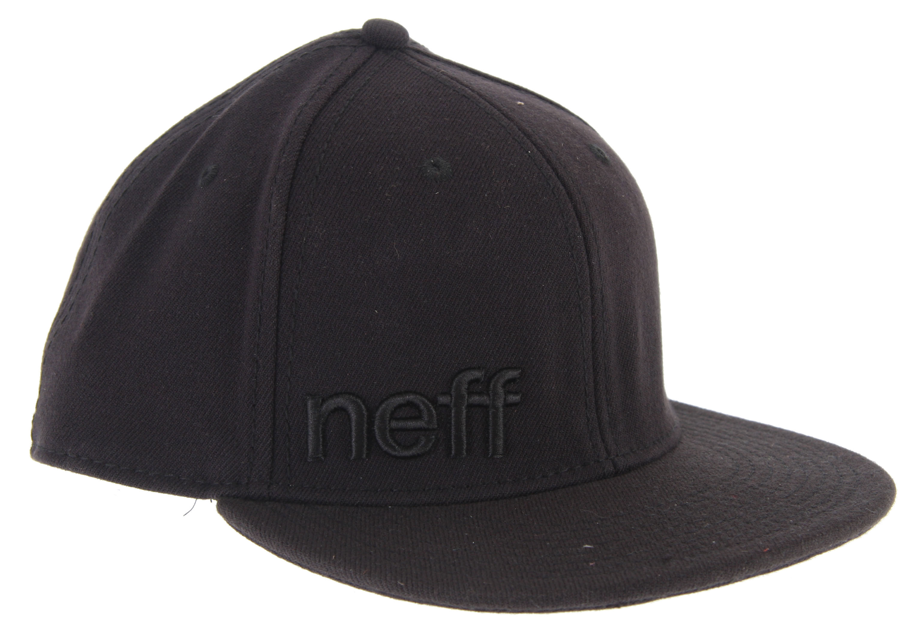 Skateboard Key Features of the Neff Daily Cap: Flat brimmed hat Off-center Neff embroidery Adjustable snapback closure 80% acrylic, 20% wool - $12.95