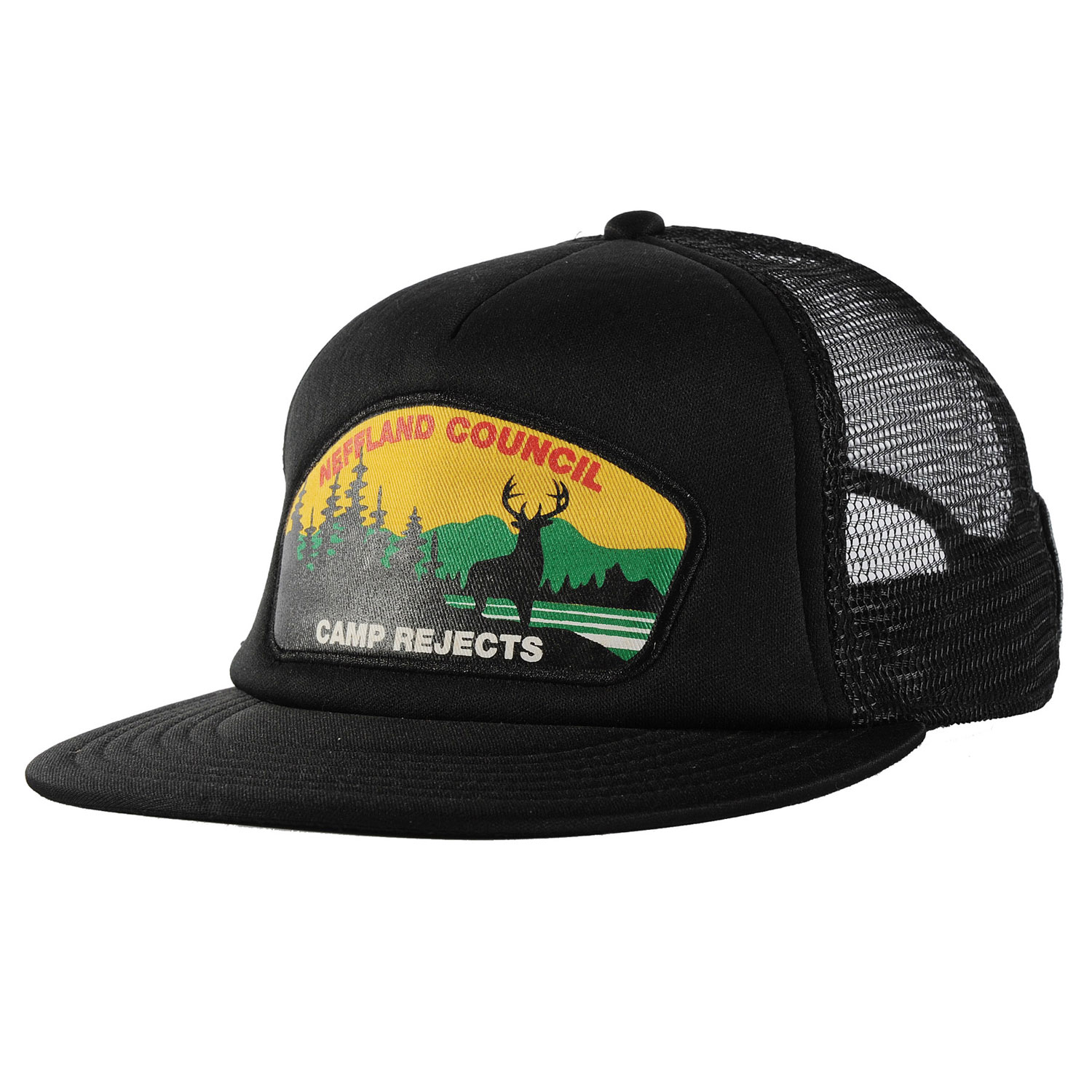 Skateboard Key Features of the Neff Neffland Cap: 100% Polyester Adjustable - $22.00