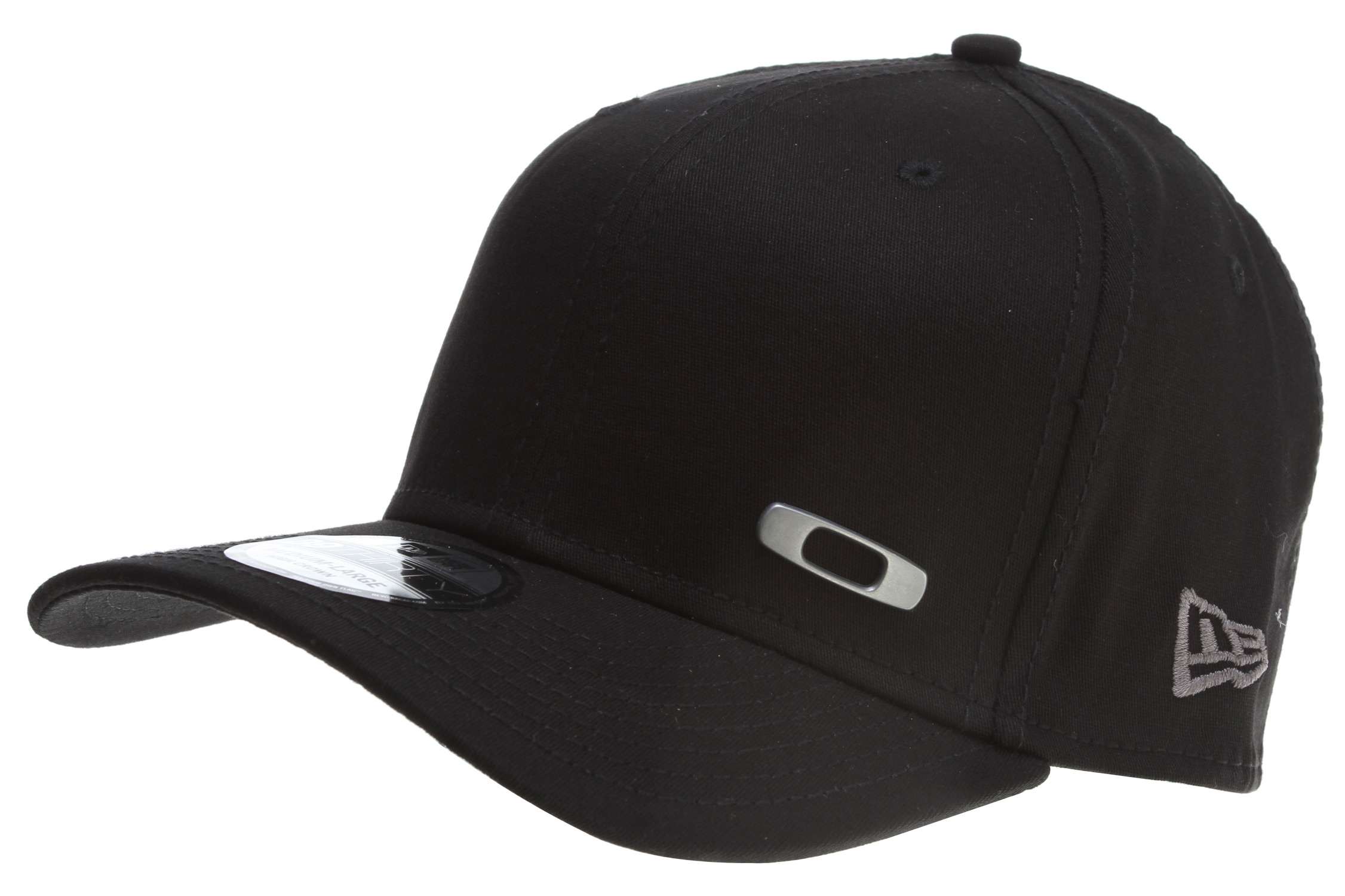 A stretchy fit teams up with a classic, curved-brim cut in the Metal Square O hat, designed for the easy-going look and durable comfort that never gets old. This high-crown New Era hat incorporates eyelet venting and sweat-managing fabric so every wear is a comfortable one.Key Features of the Oakley Metal Square O Cap: Authentic New Era 39thirty fitted Slighty curved brim Front metal fixed icon Padded sweatband Eyelet venting - $20.95