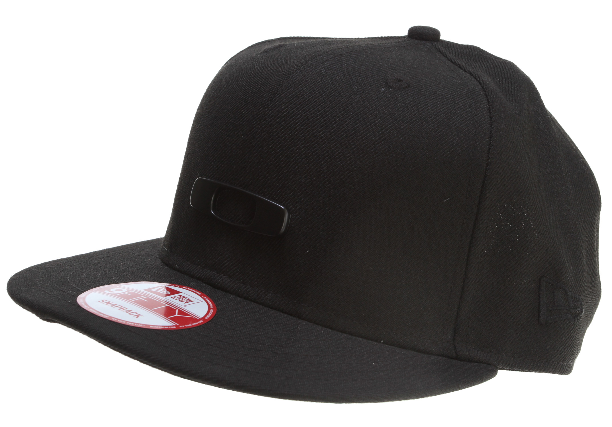 Key Features of the Oakley Metal Gascan O-Justable Cap: Authentic New Era 39thirty adjustable fit Deep fit design Wide brim Metal logo Padded sweatband Eyelet venting - $17.95