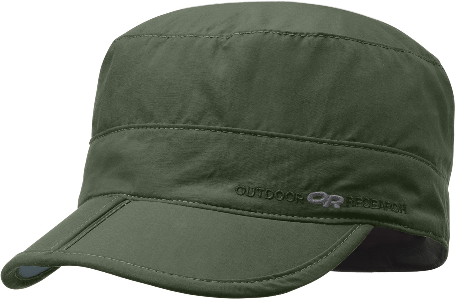 Key Features of the Outdoor Research Radar Pocket Hat: Supplex nylon fabric; UPF 30 TransAction headband  Folding brim for easy storage in pocket - $27.00