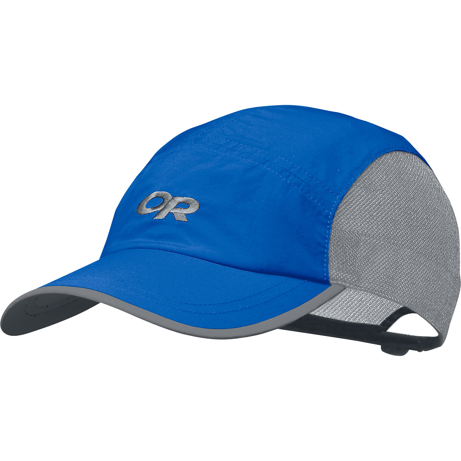 Key Features of the Outdoor Research Swift Hat: Quick-dry, nylon Supplex fabric front and top panels Mesh liner crown aids ventilation Shaped, plastic-stiffened bill TransAction headband Quick-release buckle adjustment - $14.95