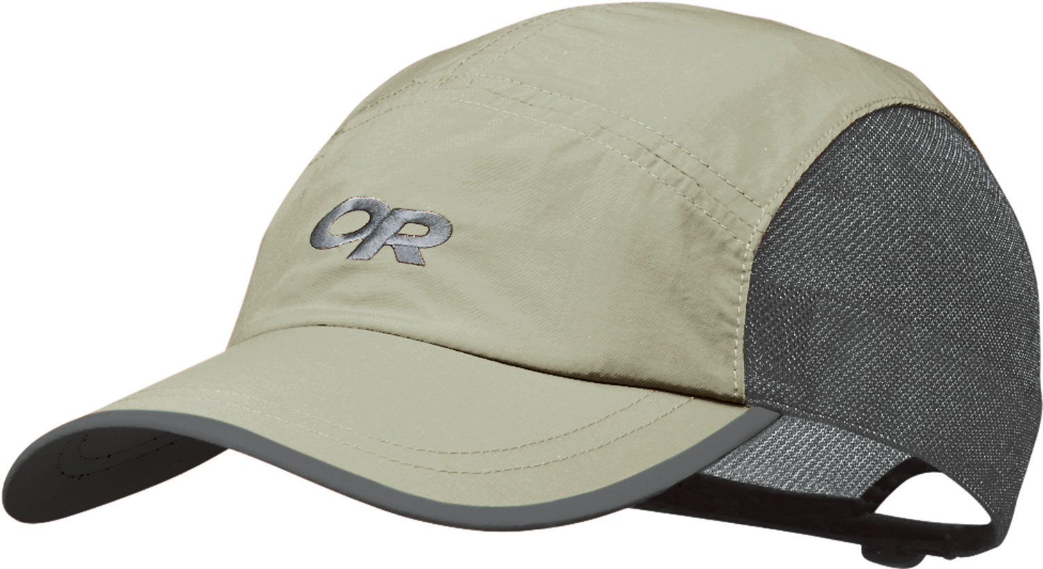 Key Features of the Outdoor Research Swift Hat: Quick-dry, nylon Supplex® fabric front and top panels Mesh liner crown aids ventilation Shaped, plastic-stiffened bill TransAction™ headband Quick-release buckle adjustment - $14.95
