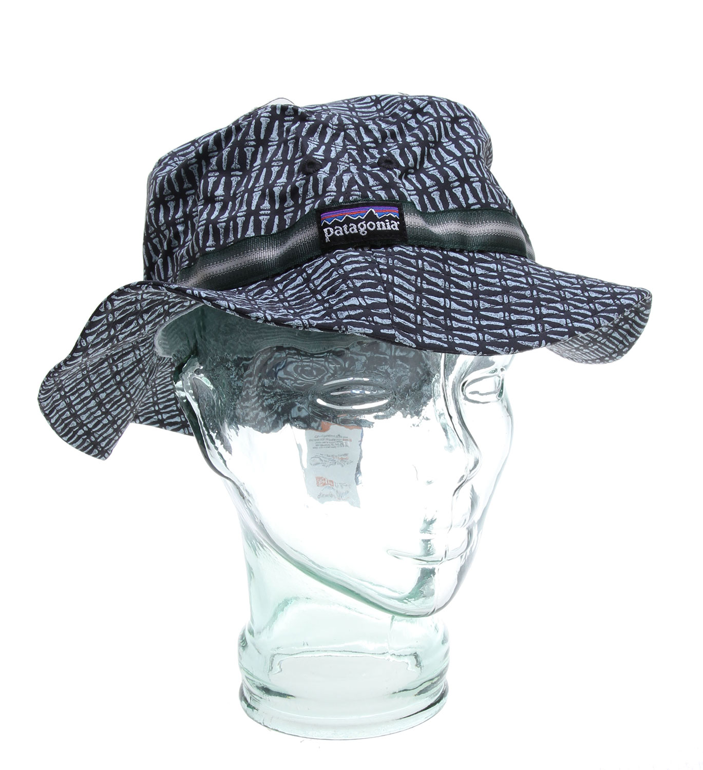 With its full brim, the lightweight, fast-drying Bucket Hat provides 360-degree and 50+ UPF sun protection. FABRIC: 4.2-oz 100% nylon with a DWR (durable water repellent) finish and 50+ UPF sun protectionKey Features of the Patagonia Bucket Hat Nailed/Black: Regular fit Lightweight, fast-drying, easy-care fabric with 50+ UPF sun protection Nylon treated with a DWR finish to shed rain and ocean spray Crushable 360-degree brim provides complete sun protection Rolls into its own inside pocket - $25.95