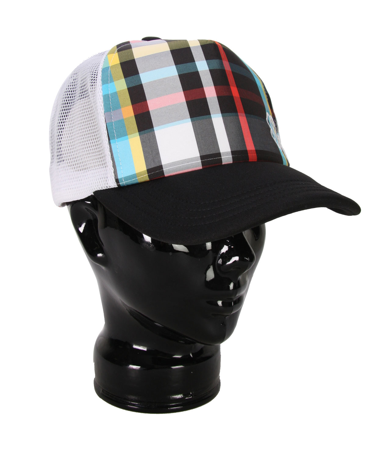 Want to add some extra glam to your outfit? Do so with the Special Blend Glam Plaid Trucker Hat, featuring a fabulous plaid print design. Stand out with this bold design, adding depth and character to any outfit. All you girls out there who aren't afraid to stand out and be seen, this is the one for you. Be fabulous and rock the Special Blend Glam Plaid Trucker Hat with confidence.Key Features of The Special Blend Glam Plaid Trucker Women's Hat: Glam plaid pattern on front panels Logo embroidery - $12.95