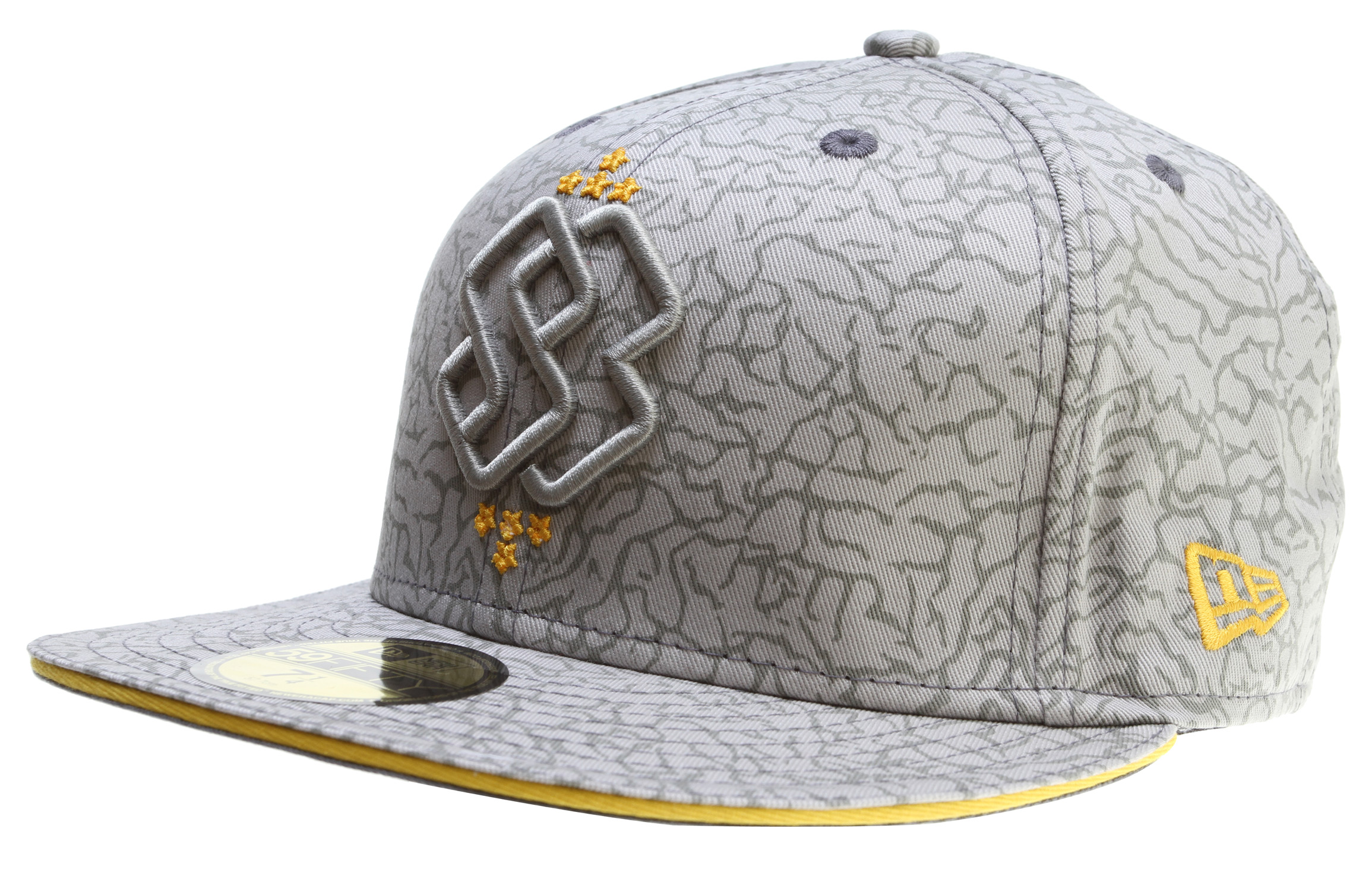 Key Features of The Special Blend Principal New Era Cap: 3d embroidery All over printed crackalack pattern 59/50 100% cotton - $16.95