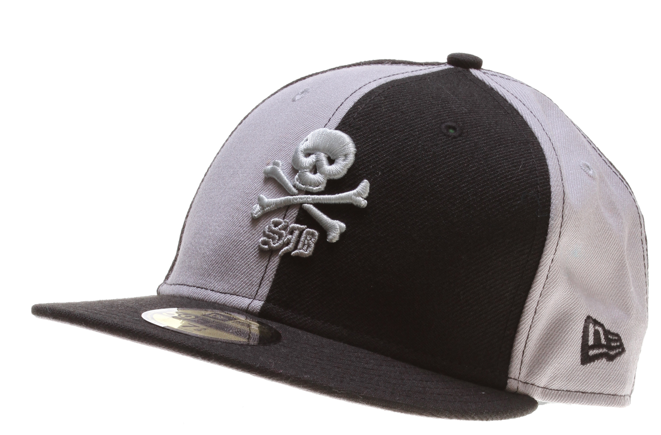 Key Features of The Special Blend Thugby New Era Cap: Color block cap Embroidery skull 59/50 100% wool - $16.95