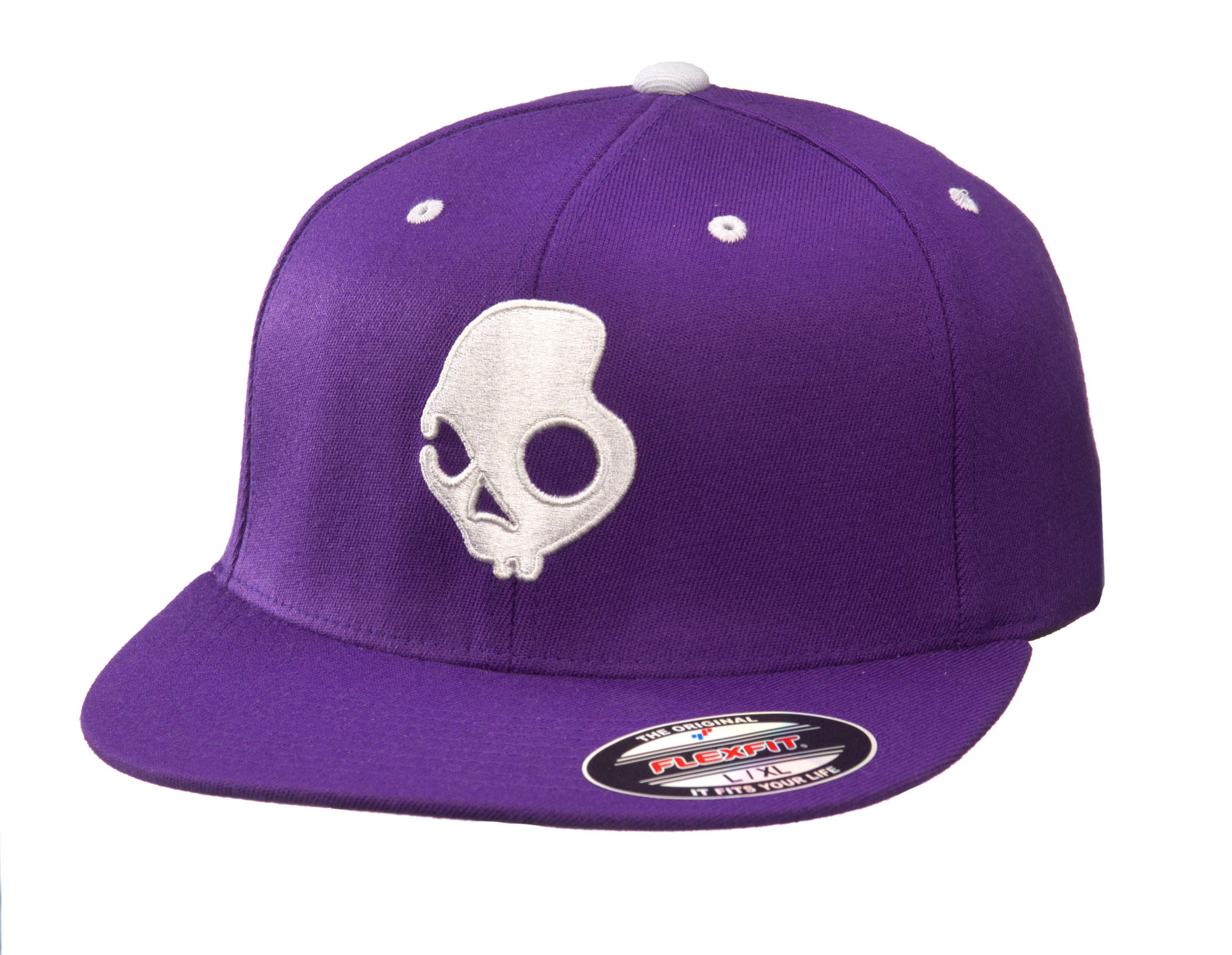 Key Features of the Skullcandy Skullday Long J Fit Cap: 210 Fitted Flexfit Cap - $17.95