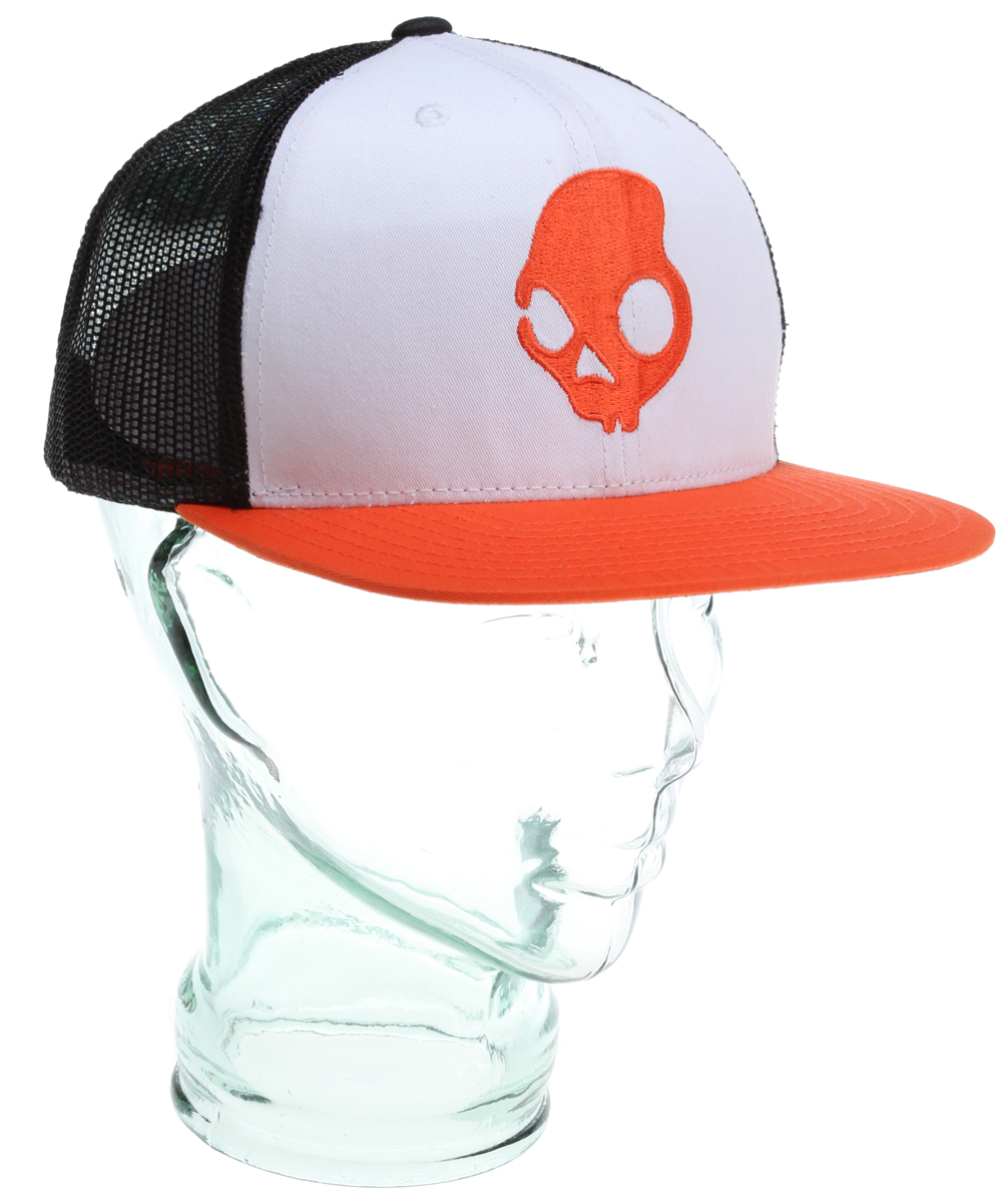 Key Features of the Skullcandy Skulldaylong Standard Trucker Cap: Adjustable mesh snap back Embroidered logo - $14.95