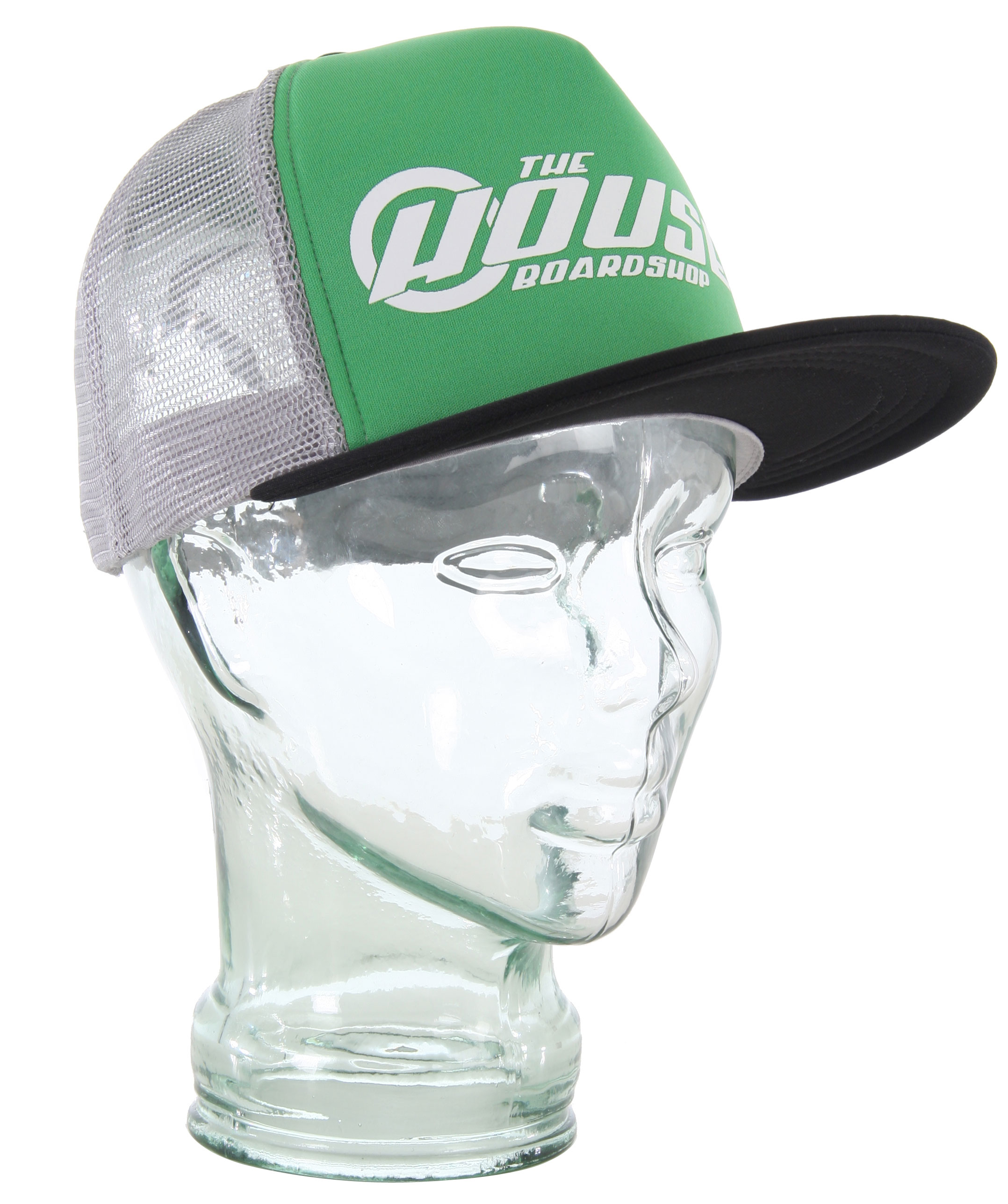 House Mack Truxel Trucker Cap Black/Green - $19.95