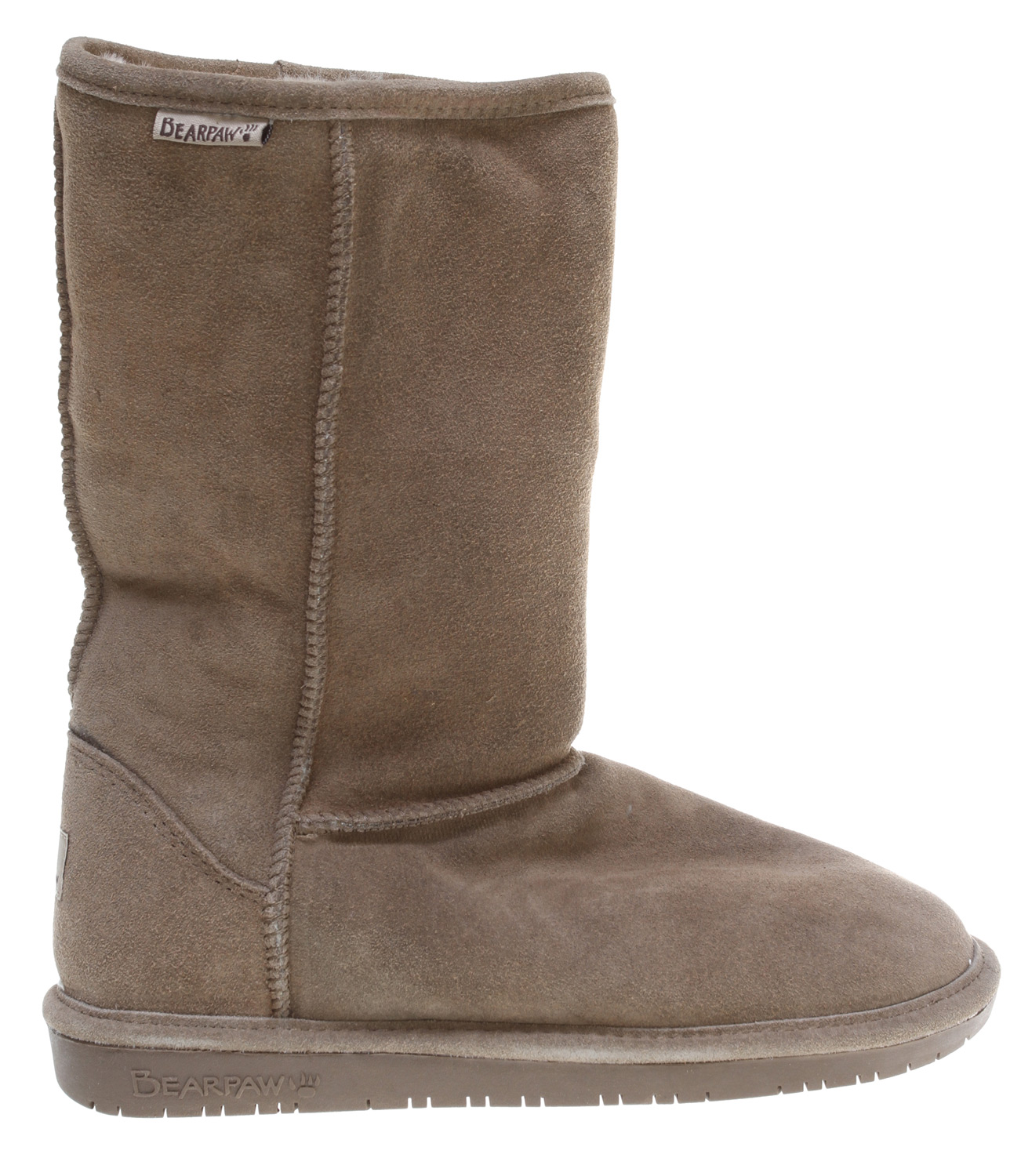 "Key Features of the : Key Features of the Bearpaw Emma 10 Inch Casual Boots: 10"" Cow suede Sheepskin and wool blend lining Sheepskin footbed Woven label heel logo and collar logoKey Features of the Bearpaw Emma 10 Inch Casual Boots: 10"" Cow suede Sheepskin and wool blend lining Sheepskin footbed Woven label heel logo and collar logo - $43.95"