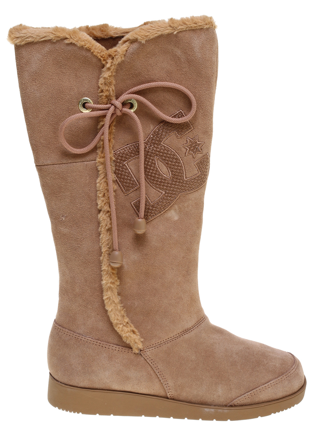 Key Features of the DC Gondola HI Boots Chestnut: Textile Upper Vulcanized Construction for great board feel and sole flex Latex Insole for comfort Abrasion-Resistant Sticky Rubber Outsole Die cut eva insole die cut eva midsole - $79.95