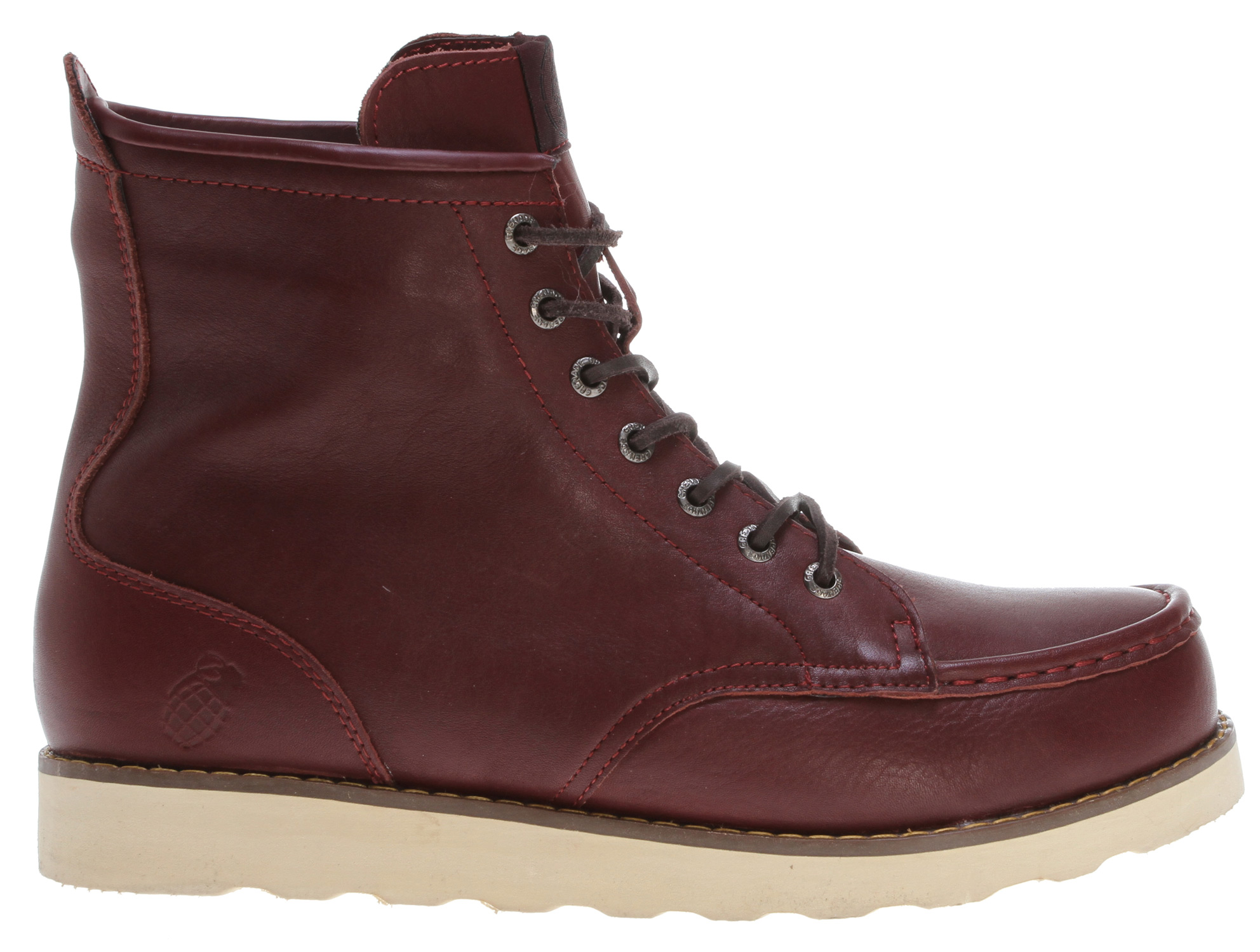 Key Features of the Grenade Urban Trekker Leather Boots : Leather upper Durable rubber sole Mid-cut silhouette - $29.99