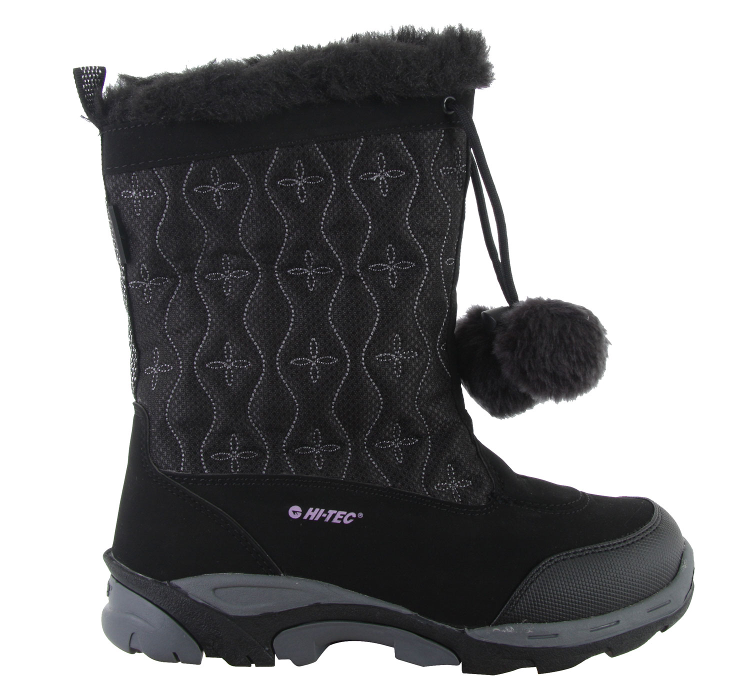 For a winter season filled with ice and snow, a pair of snow boots is a must have in everyone's wardrobe. The Hitec Snowdonia 200 Casual Boots offers a sleek design with features that'll assure satisfaction. Its waterproof material is ideal to lock out any moisture from the snow. The faux shearling lining adds a touch of warmth while the rubber soles add traction to keep from falling on the snow. This is a must have. It's ideal to wear out in the snow or to an active trip up to the mountains.Key Features of the Hitec Snowdonia 200 Casual Boots: Waterproof Synthetic Nubuck And Mesh Upper Thermo-Dri@ Waterproof And Insulated Systems Waterproof Bootie Construction Faux Shearling Lining Comfort Tec Contoured Sock Liner Board Lasted With Steel Shank For Added Rigidity Winter Traction, Rubber Outsole Design - $47.95