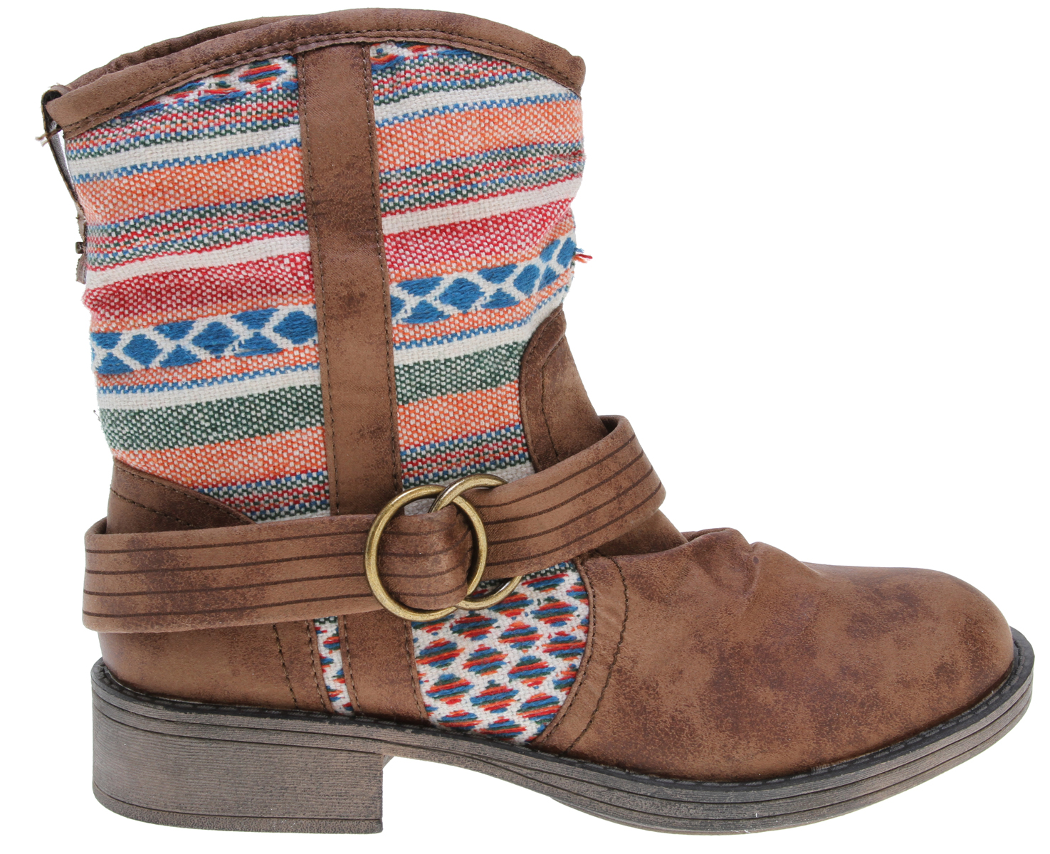 Surf Key Features of the Roxy Dillon Boots: weathered faux suede boot with textile shaft and buckle detail faux suede ROXY pull tab with metal stud inside zip canvas upper lining canvas footbed lining with padded insole flexible TPR unit bottom boxed - $54.95