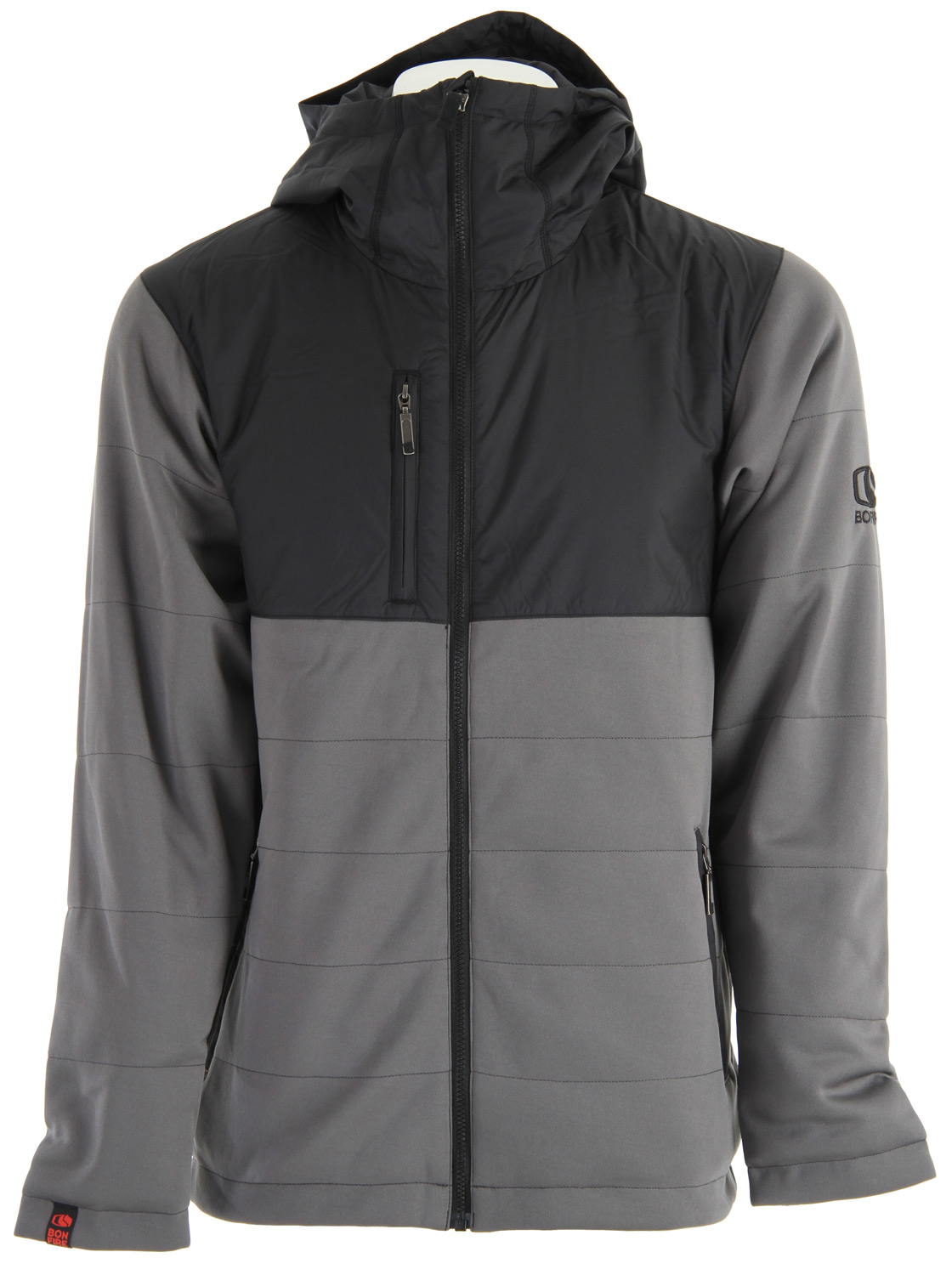 The Bonfire Steep Fleece Jacket is both simple and highly functional. Insulated construction of Taffeta hood and upper, combined with our time and terrain tested Optic Fleece body and sleeves.Key Features of the Bonfire Steep Fleece Jacket: Water resistant Taffeta shoulders 40g insulation Thumb loops Chest pocket audio exit - $69.95