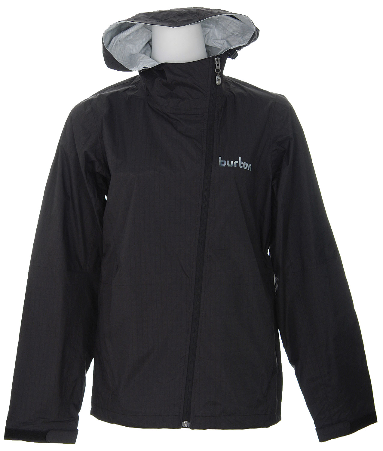 Snowboard The Burton 2.5L Jacket for women offers uncomplicated style and admirable workmanship, from the board sport industry trailblazer. Designed for street wear, the 2.5L jacket is warm enough for the slopes. Rated 5K for breathable, water-resilient performance, it features zippered arm pit vents and fixed hood in a laminated shell boasting Micro Grid Blocker technology. Emblazoned with the respected Burton name in grid pattern across the chest, this understated outerwear for women is already an instant classic.Key Features of the Burton 2.5L Jacket: 5,000 Storm-lite waterproofing 5,000 Storm-lite breathability 2.5L Laminated Shell Fabric with Micro Grid Blocker Pit zips Fully taped seams Full time contour hood - $69.95