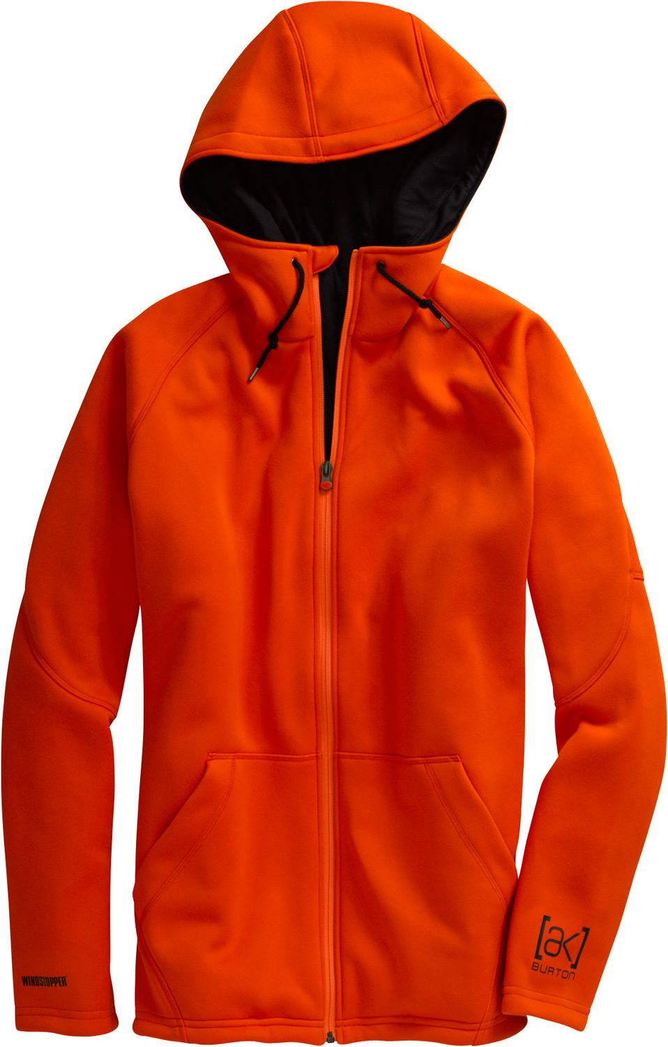 Snowboard Lightweight, windproof, and highly breathable, up to 250% warmer than a non-windproof eece.Key Features of the Burton AK Blitzer Windstopper Jacket: DRYRIDE Thermex Interlock Fabrication WINDSTOPPER Lining Highly Breathable for Accelerated Moisture Wicking Hood with Draw Cord Oversized Kangaroo Handwarmer Pockets - $199.95