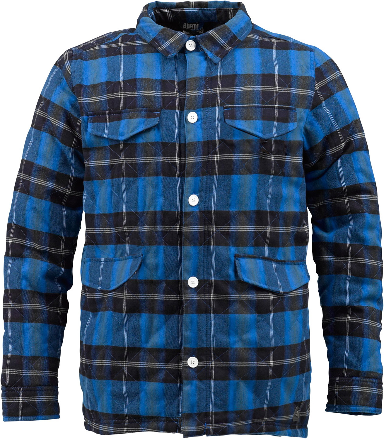 Snowboard A Vermont original insulated flannel with backwoods style direct from the general store.  Street Fit   Yarn-Dyed Flannel Fabric with DRYRIDE Mist-Defy   3M Thinsulate Insulation [40g Throughout]   Diamond Stitch Quilted Taffeta Lining   Snap Front Closure   Custom Logo Snap and Artwork Detail - $87.95