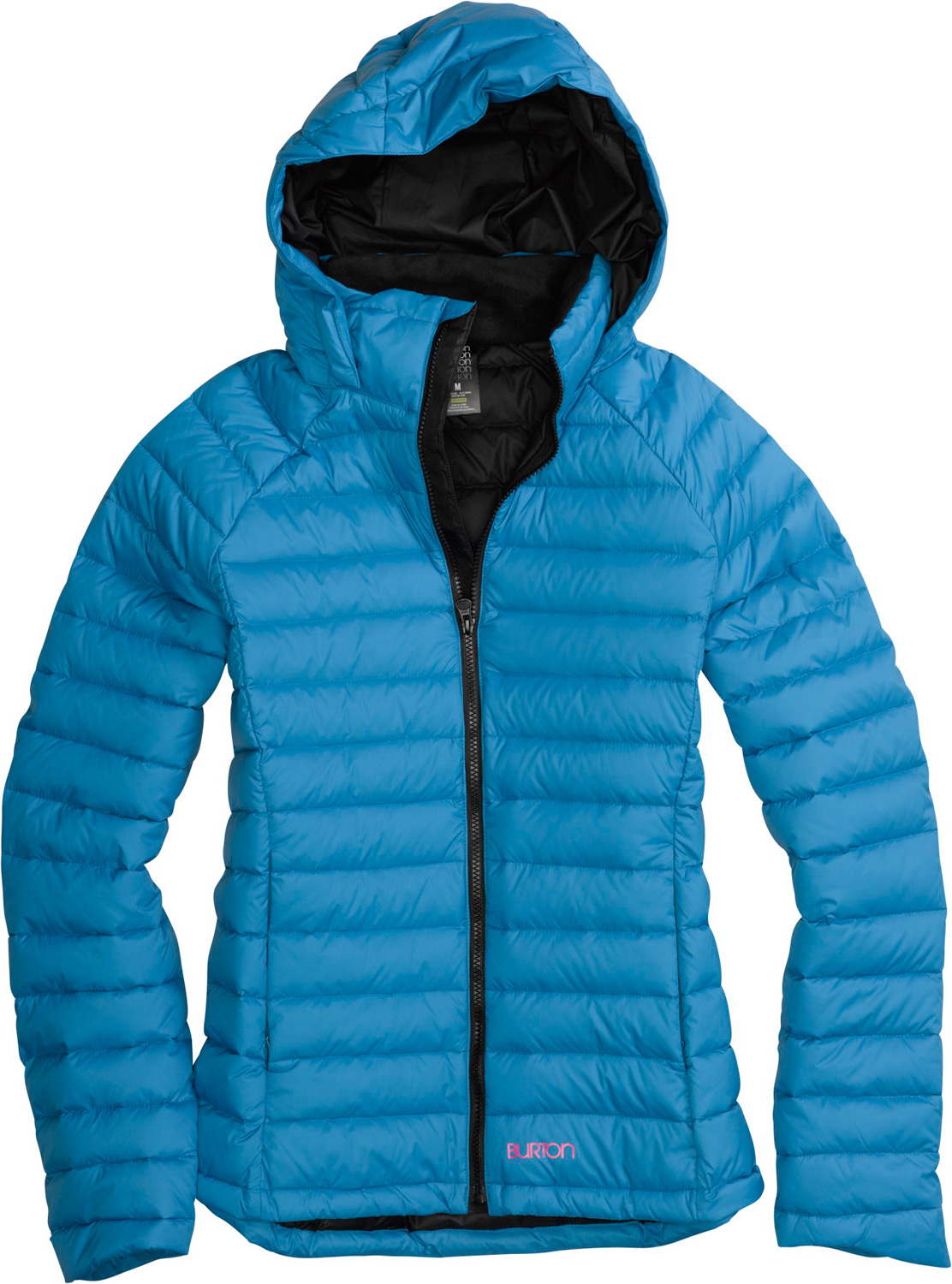Snowboard Go down. It's the best way to stay warm in an arctic environment.Key Features of the Burton Solace Down Jacket: DRYRIDE Thermex Lightweight DWR Coated Fabric Sig Fit 550 Down Fill Microfleece-Lined Handwarmer Pockets Removable Contour Hood Chafe-Free Chin Guard Hem Cinch Thumbholes on Inner Cuff - $179.95