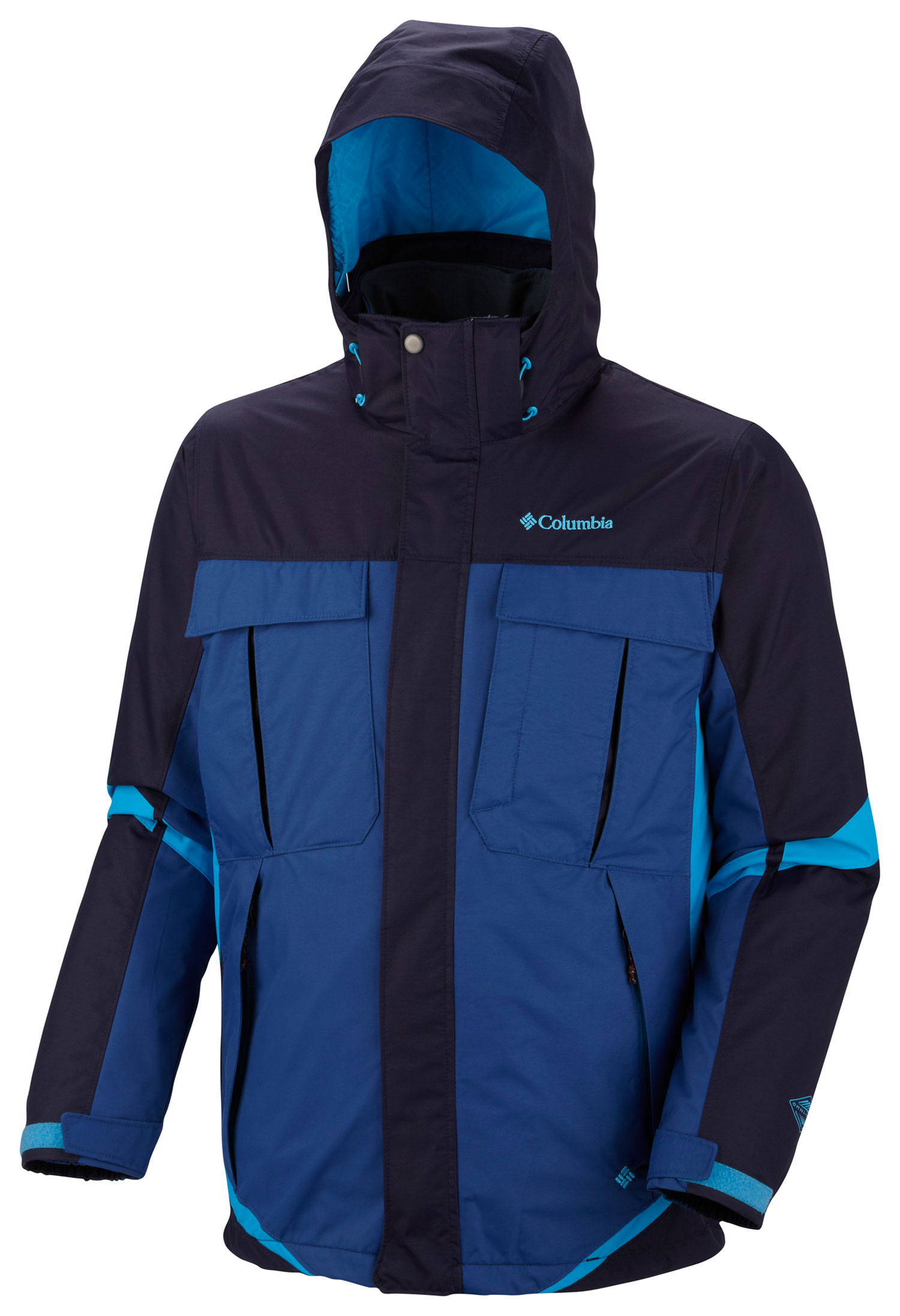 Key Features of the Columbia Bugaboo Interchange Jacket: FABRIC Shell: 100% nylon Legacy twill, 100% polyester Legacy twill. Lining: 100% nylon taffeta. Liner: 100% polyester microfiber. Lining: 100% polyester tricot. Insulation: 100% polyester, 80g Microtemp insulation. FIT Modern Classic Omni-Tech waterproof/breathable critically seam sealed Liner: 80 gram Microtemp Zip-in Interchange System Removable, adjustable storm hood Drop tail Interior security pocket Goggle pocket Zip-closed chest pocket Adjustable cuff tabs - $151.95
