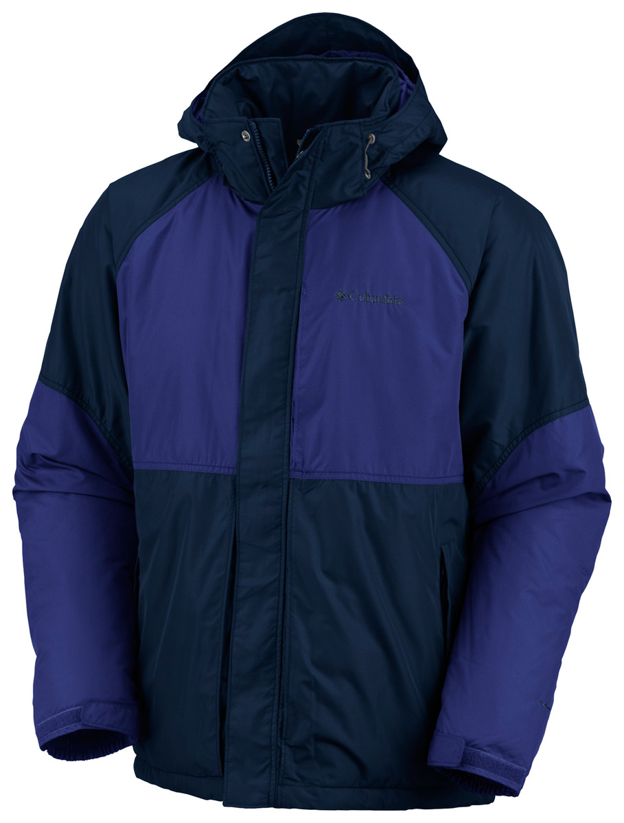 Entertainment Key Features of the Columbia Halide Class Insulated Jacket: Fabric: Shell: 100% polyester. Insulation: 100% polyester, 100g Omni-Shield advanced repellency Removable, adjustable storm hood Drawcord adjustable hem Insulated Zip-closed pockets Media and goggle pocket - $68.95