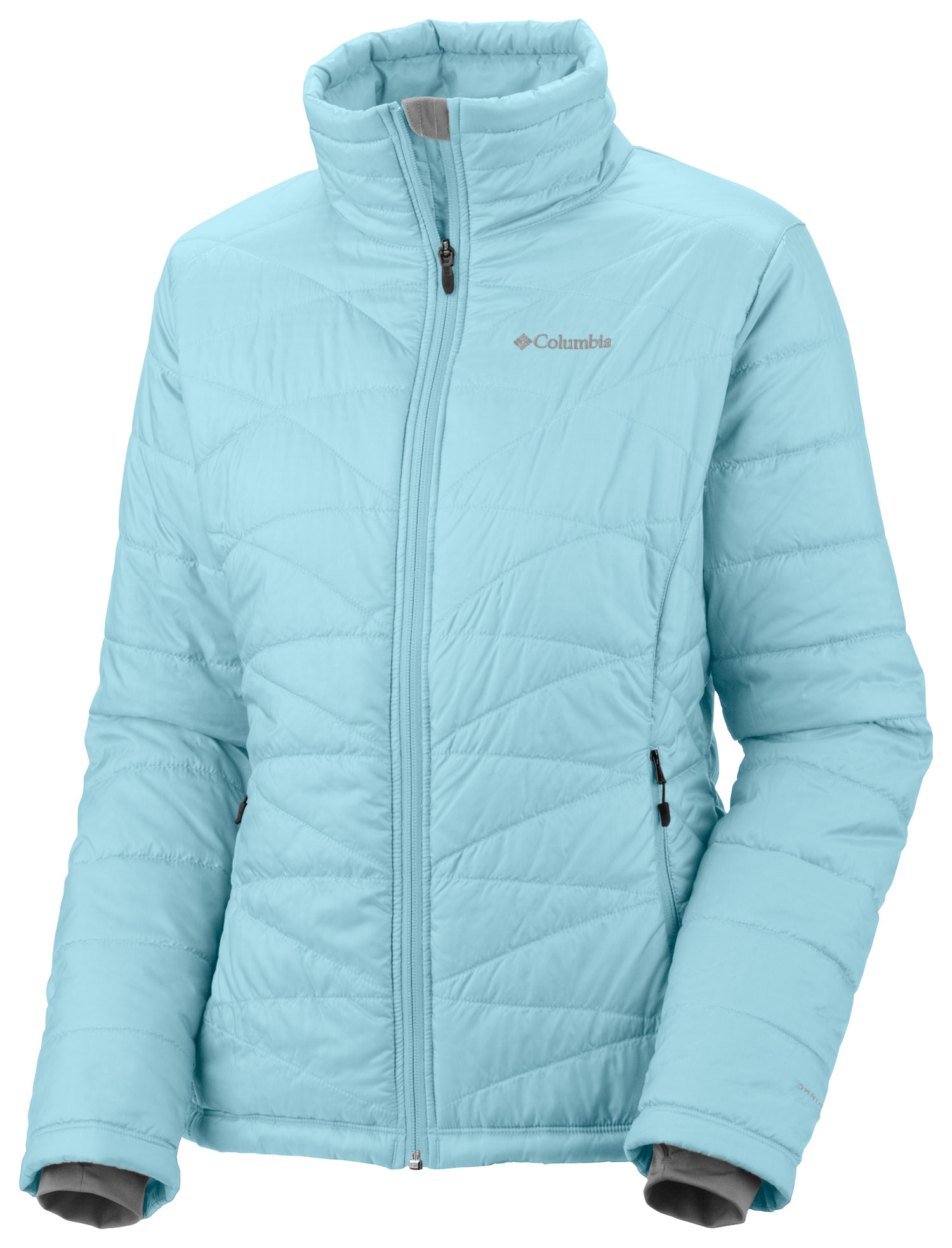 Key Features of the Columbia Mighty Lite III Jacket: FABRIC Shell: 100% polyester Windowpane Triple ripstop. Lining: 100% polyester Thermal Reflective. Insulation: 50% polyester/50% recycled polyester OH, 80g. FIT Active Omni-Heat™ thermal reflective and insulated Omni-Shield™ advanced repellency Drawcord adjustable hem Interior security pocket Zip-closed pockets Comfort cuffs Thumb holes - $87.95
