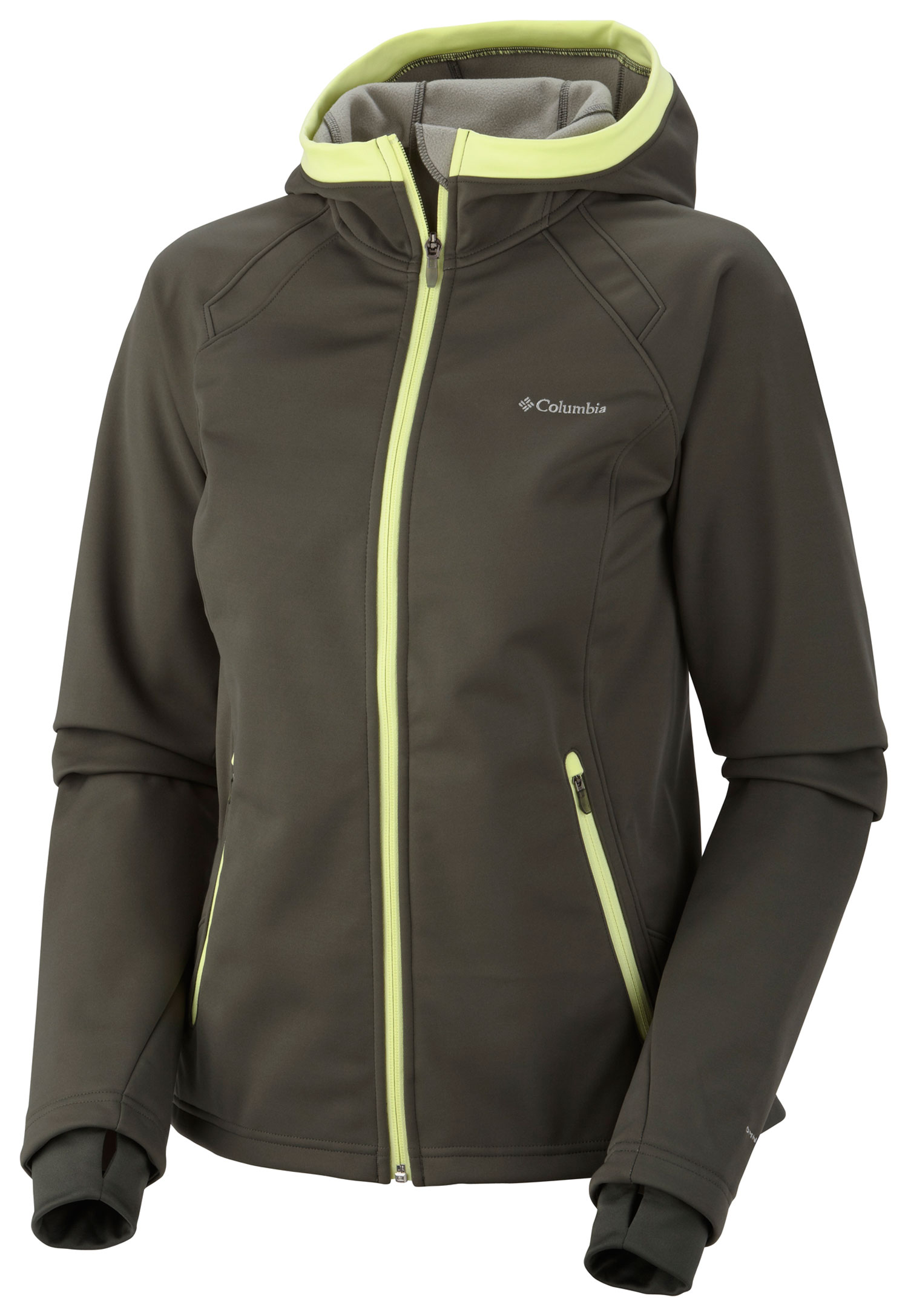 Key Features of the Columbia Supah Buttah Softshell Jacket: FABRIC 100% polyester 3L Butter Plush softshell. FIT Active Omni-Wind Block breathable windproof Omni-Shield advanced repellency Bonded softshell 2-way comfort stretch Drawcord adjustable hem Interior security pocket Comfort cuffs Thumb holes - $84.95