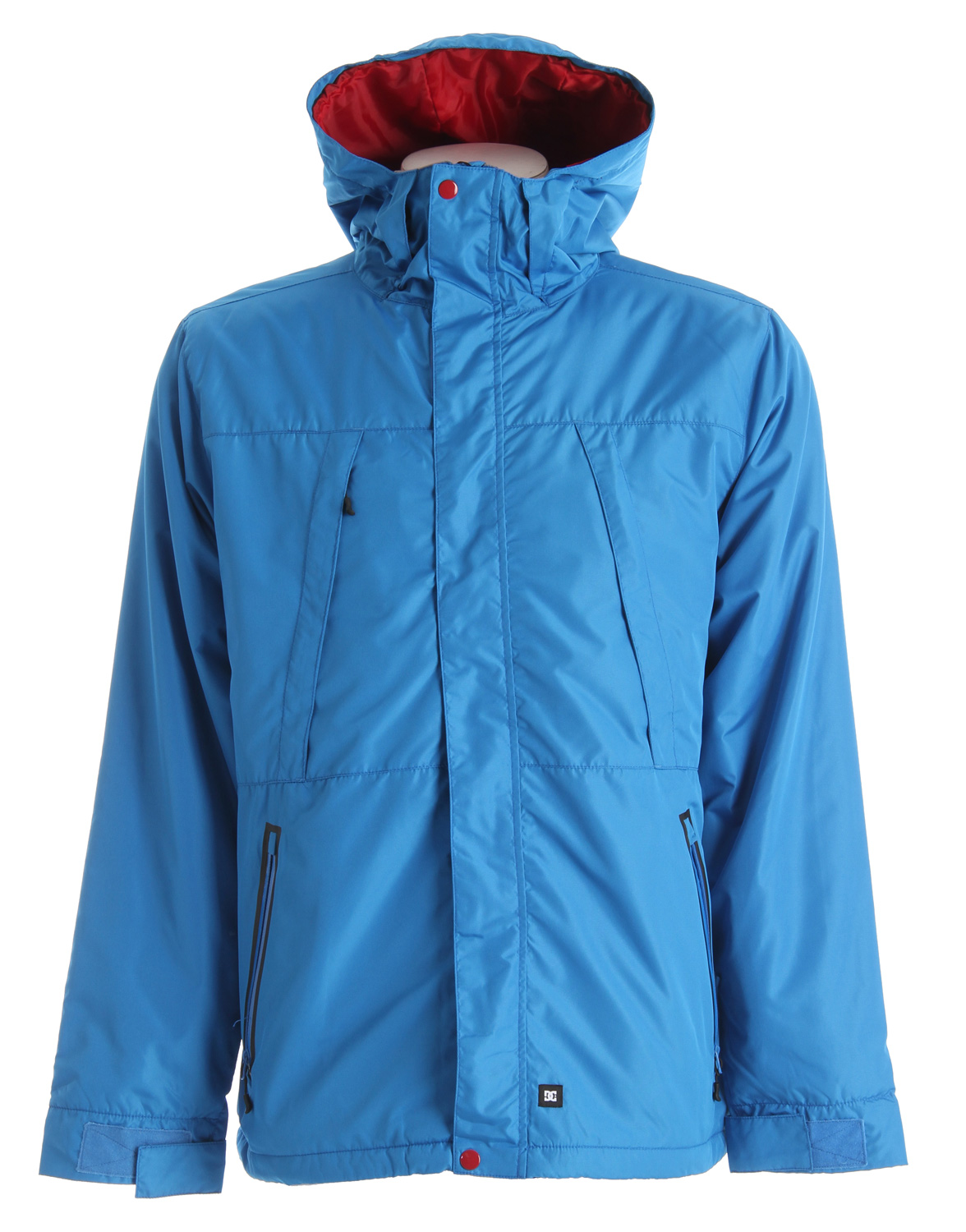 Key Features of the DC Alpine Jacket: Hooded poly ottoman shell Lightweight down fill and water resistant coating Hidden zip pockets 100% polyester - $69.95