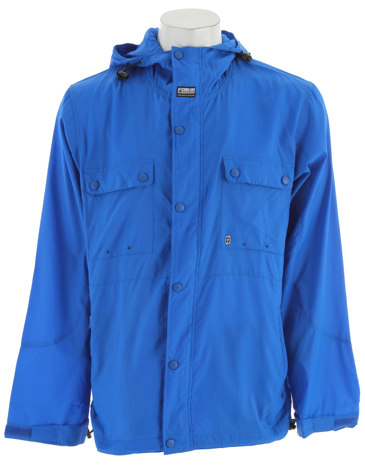Forum Packy Windbreaker Blue - $31.88
