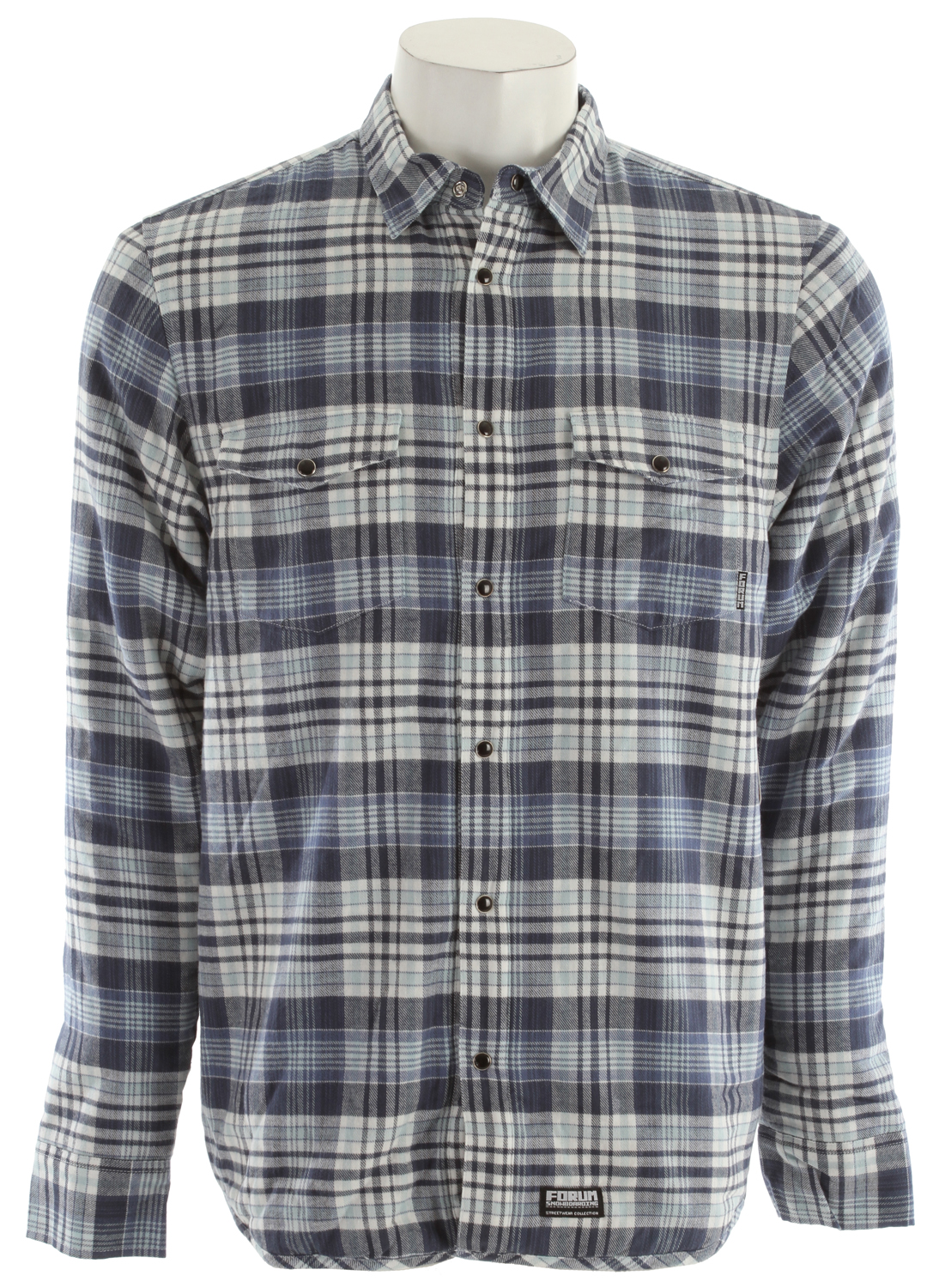 Forum PJ Insulated Flannel Blue - $35.85