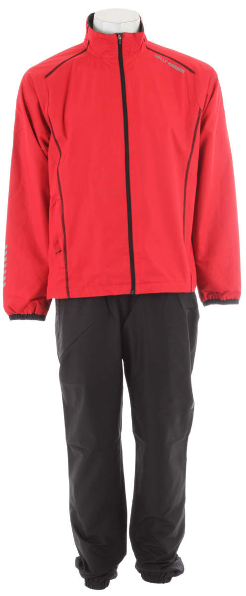 Fitness A versatile jacket and pant for skiing or running.Key Features of the Helly Hansen Winter Training Set Jacket/Pant Set: Wind protective and water resistant shell fabric 100% Polyester - $89.95