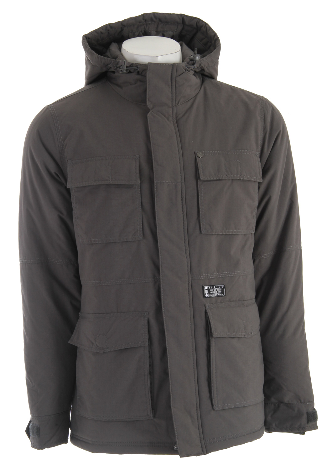 Surf Hurley Focus Jacket Cinder - $82.95
